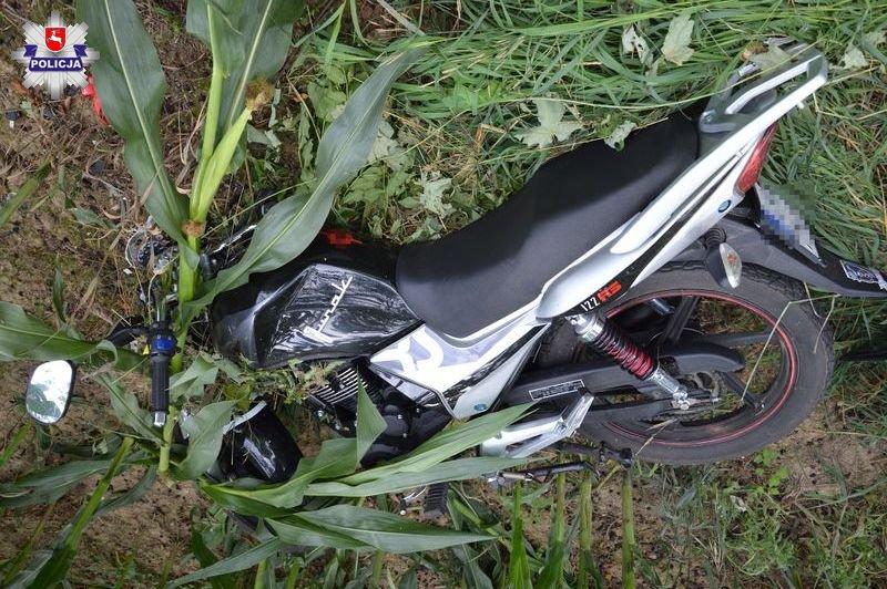 68 172288 Śmiertelny wypadek motocyklisty