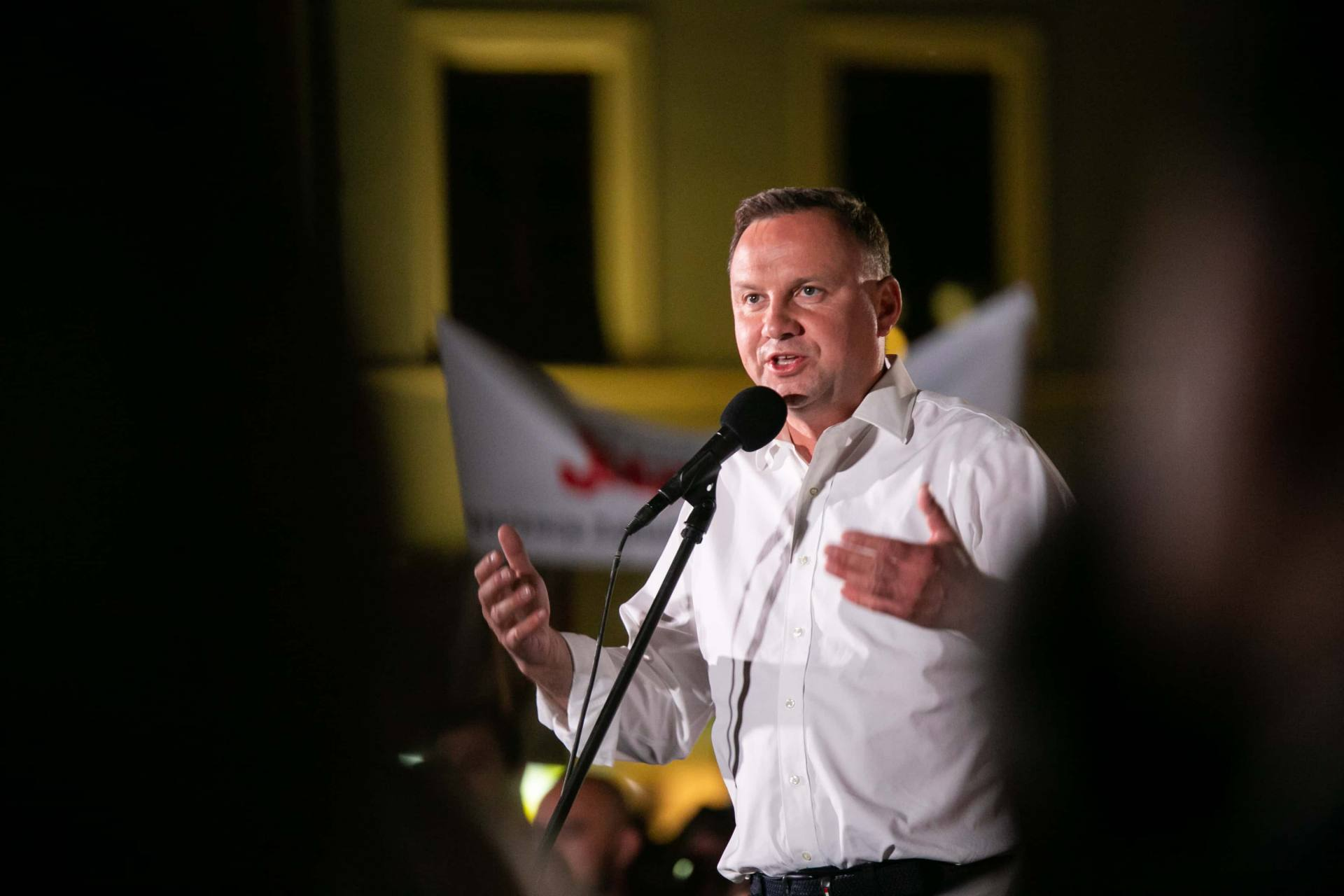 andrzej duda w zamosciu 101 Andrzej Duda prezydentem RP na drugą kadencję. PKW podała wyniki z prawie wszystkich komisji wyborczych.