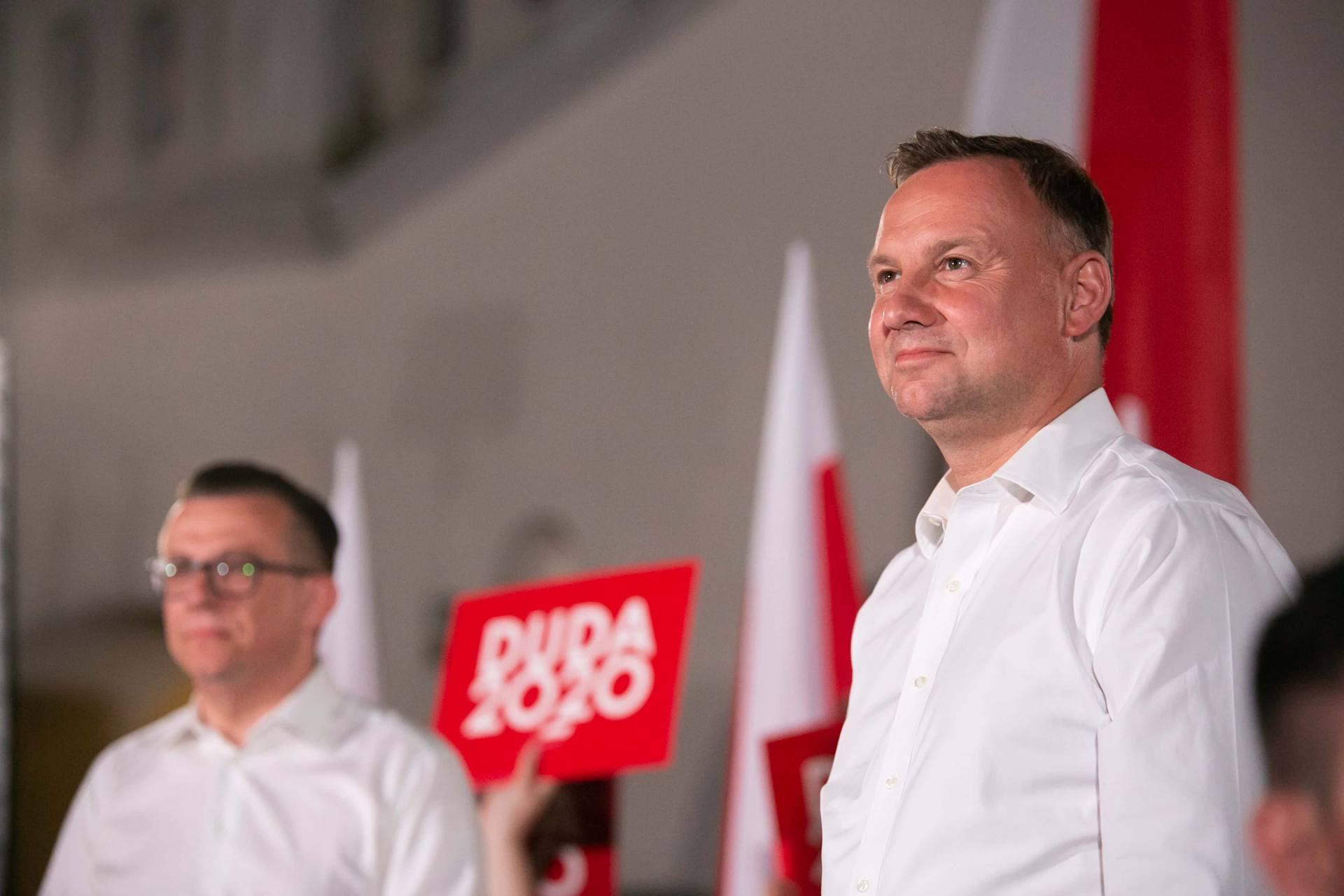 andrzej duda w zamosciu 45 Andrzej Duda prezydentem RP na drugą kadencję. PKW podała wyniki z prawie wszystkich komisji wyborczych.