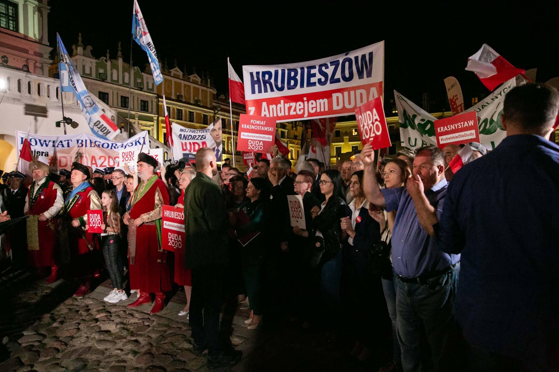 andrzej duda w zamosciu 57 Andrzej Duda prezydentem RP na drugą kadencję. PKW podała wyniki z prawie wszystkich komisji wyborczych.