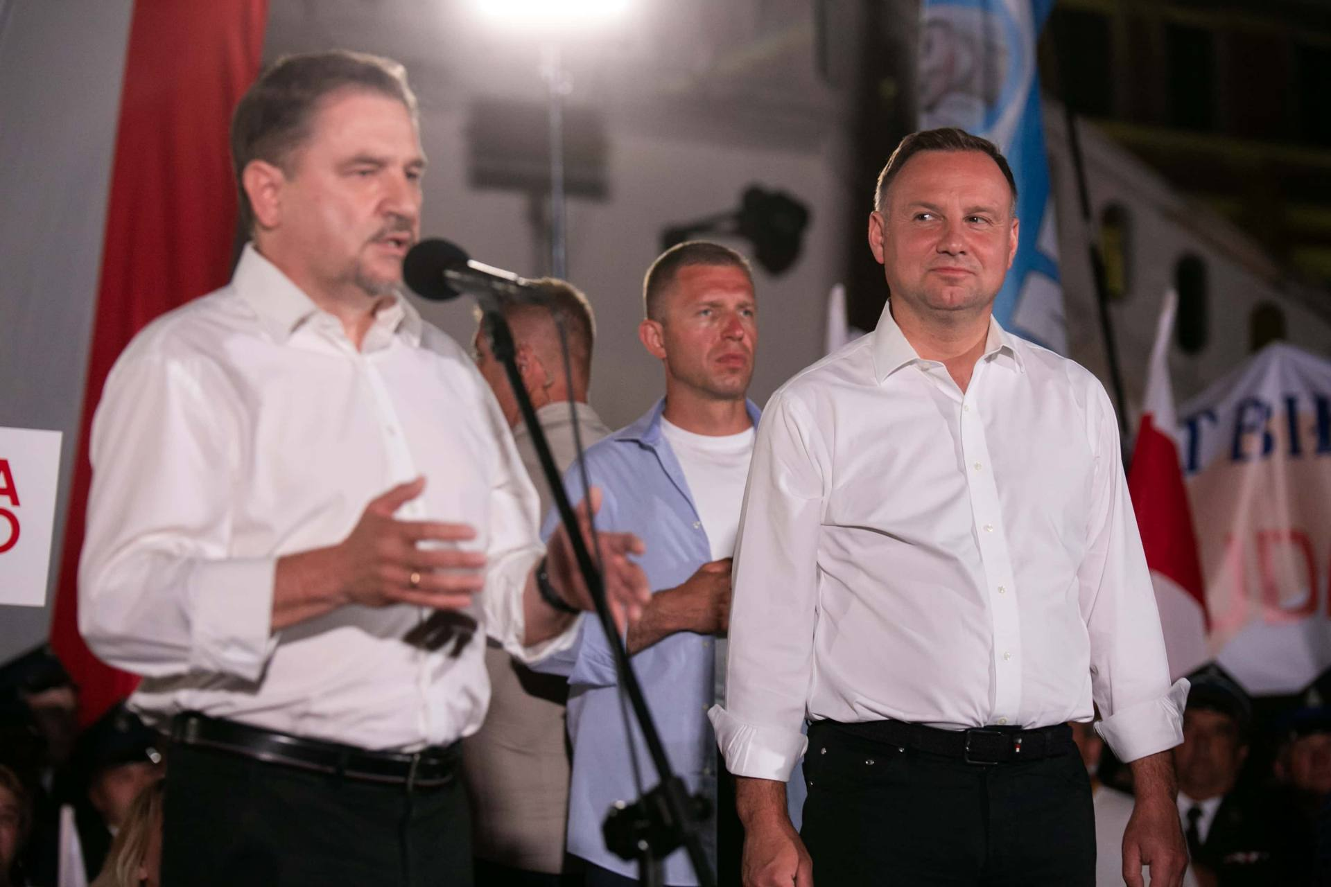 andrzej duda w zamosciu 60 Andrzej Duda prezydentem RP na drugą kadencję. PKW podała wyniki z prawie wszystkich komisji wyborczych.