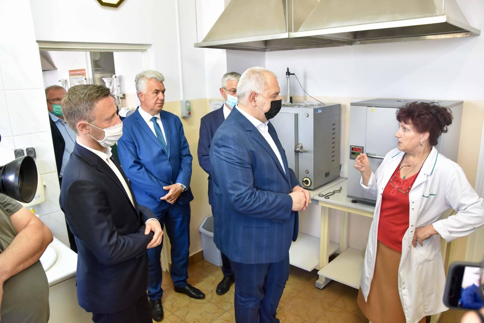 dsc 7997 Wicepremier Jacek Sasin zapowiedział modernizację Zamojskich Zakładów Zbożowych