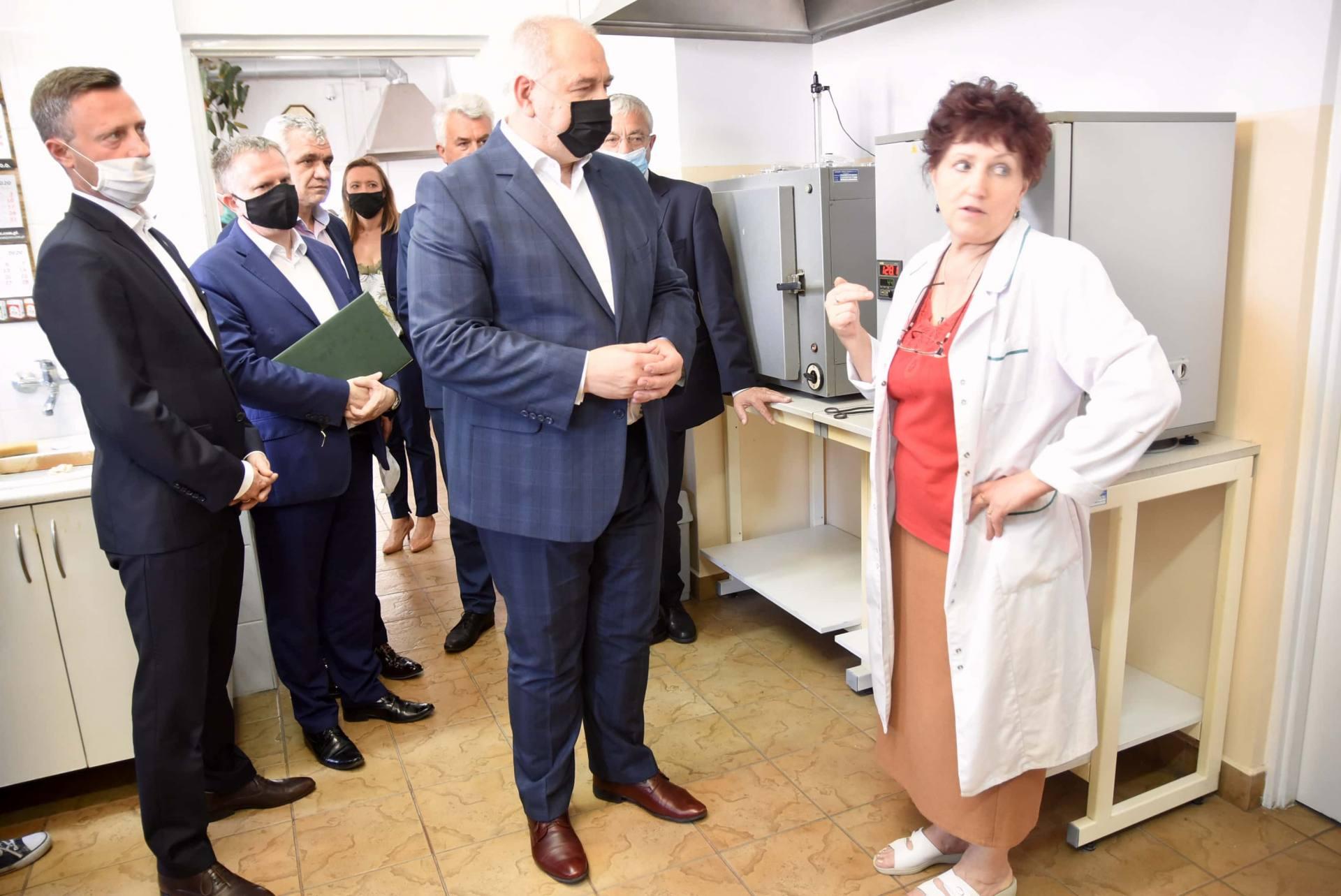 dsc 8005 Wicepremier Jacek Sasin zapowiedział modernizację Zamojskich Zakładów Zbożowych