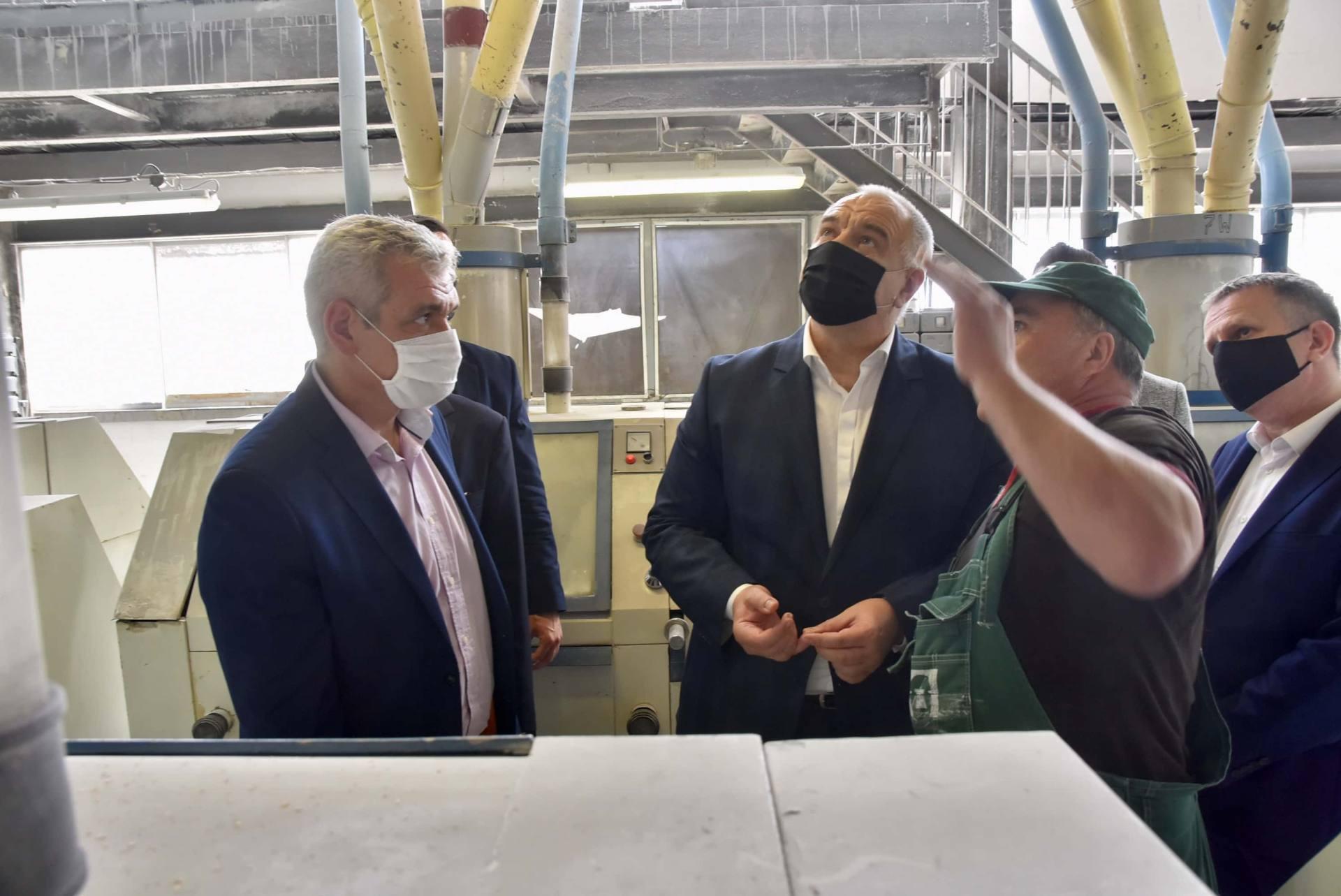 dsc 8056 Wicepremier Jacek Sasin zapowiedział modernizację Zamojskich Zakładów Zbożowych