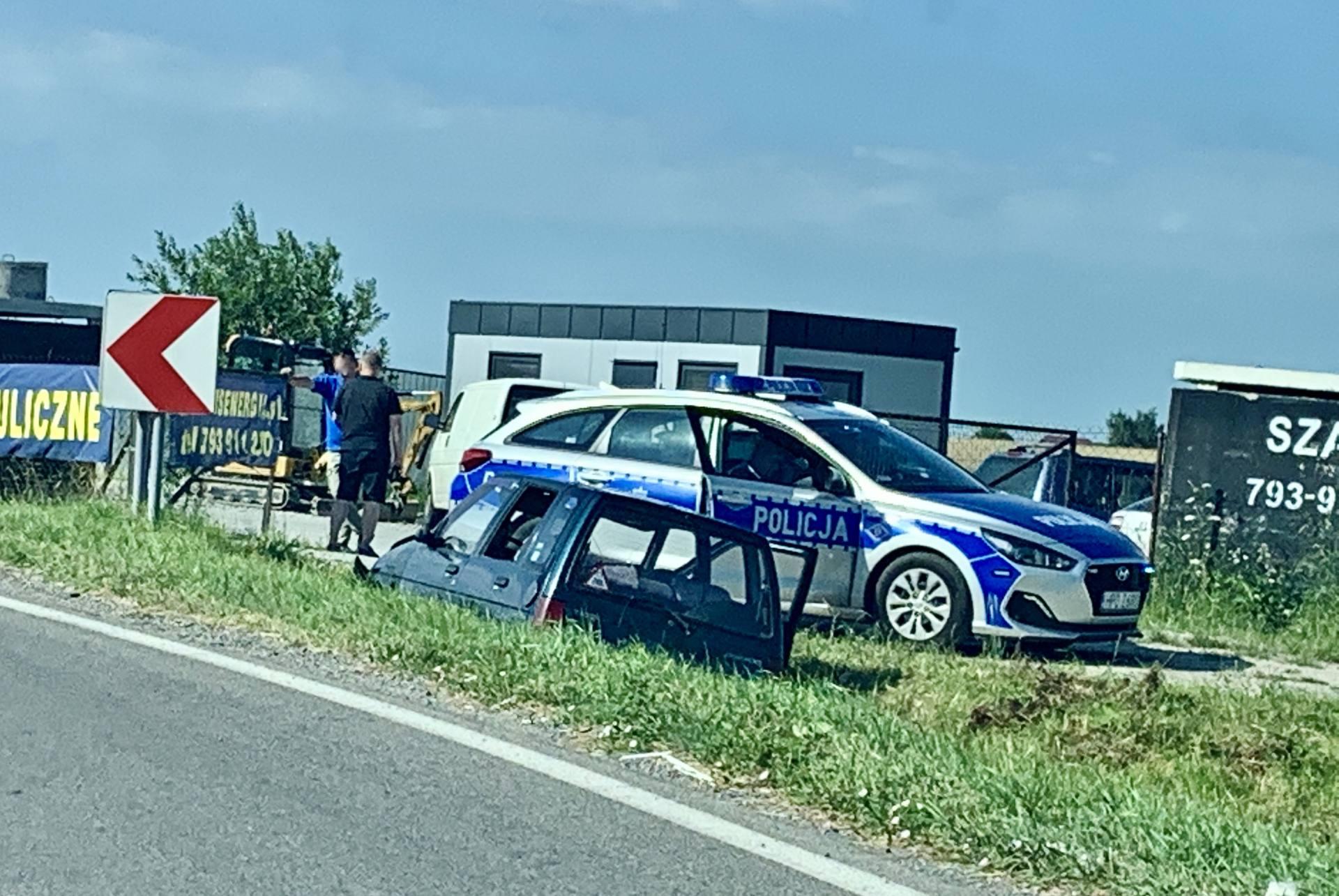 img 0758 88-letni kierowca Daewoo stracił panowanie nad pojazdem