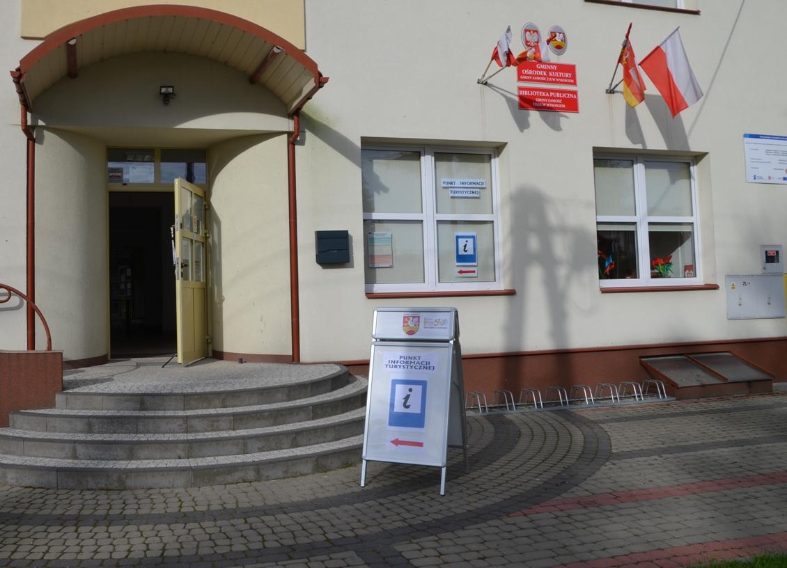 obrazek glowny pitgz Stacje rowerowe i Punkt Informacji Turystycznej w Gminie Zamość