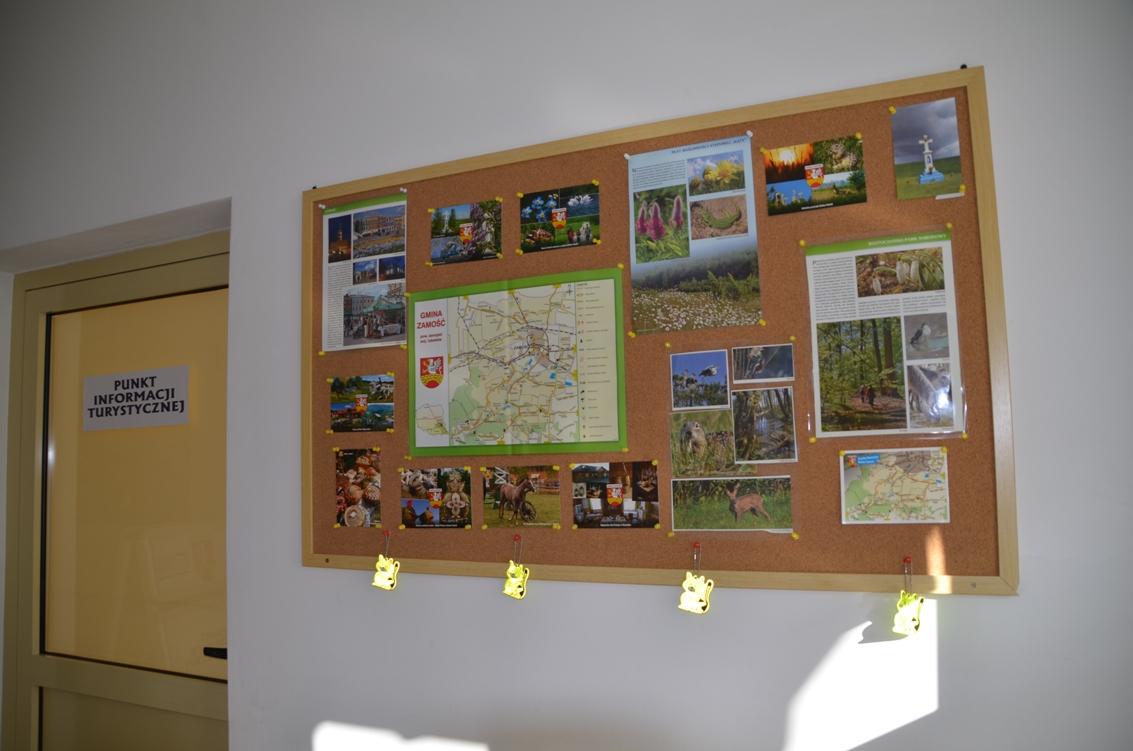 pitgz 2 Stacje rowerowe i Punkt Informacji Turystycznej w Gminie Zamość