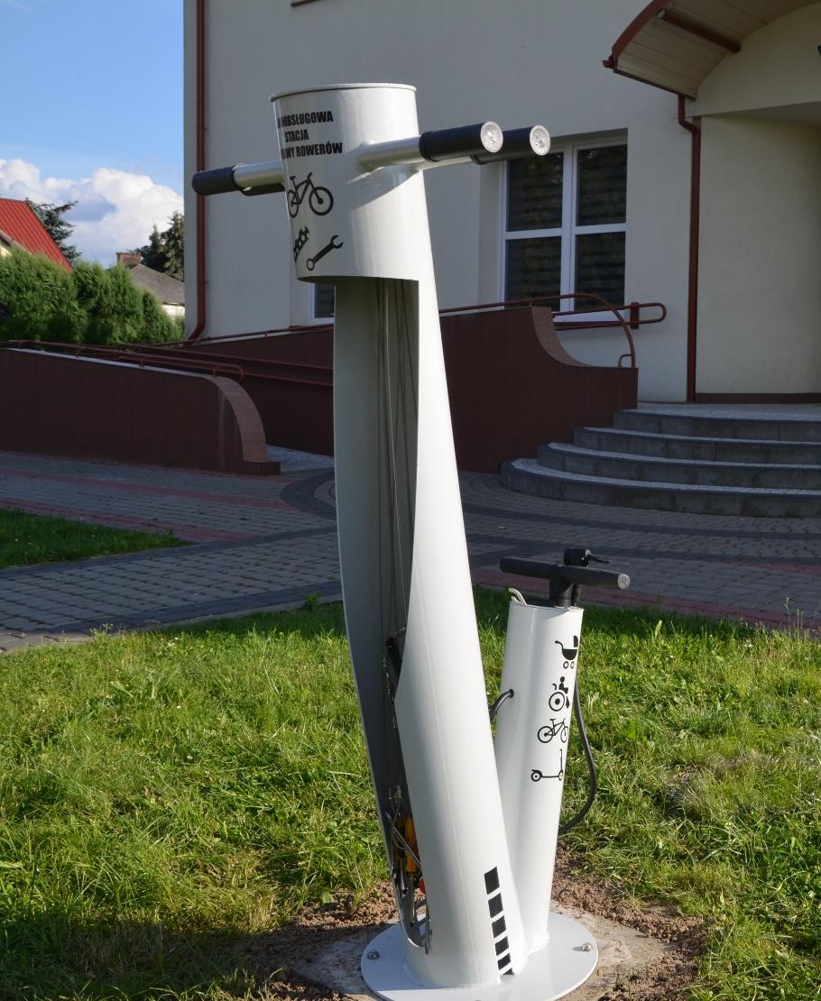 pitgz 5 Stacje rowerowe i Punkt Informacji Turystycznej w Gminie Zamość