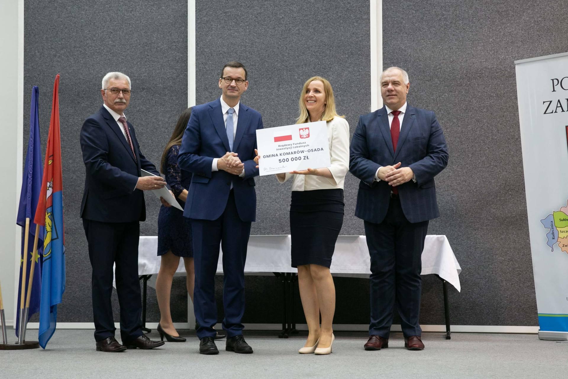 premier morawiecki w zamosciu 18 Premier Mateusz Morawiecki spotkał się z samorządowcami z Zamojszczyzny [ZDJĘCIA]