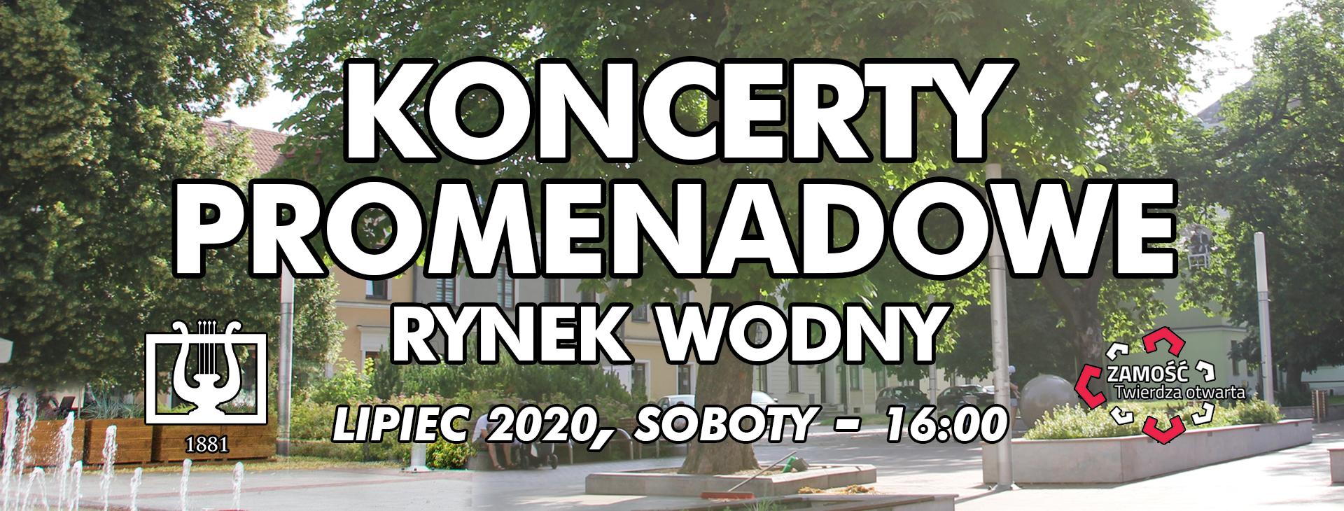 promenadowy 2020 baner fb Namysłowiacy powracają z koncertami plenerowymi.