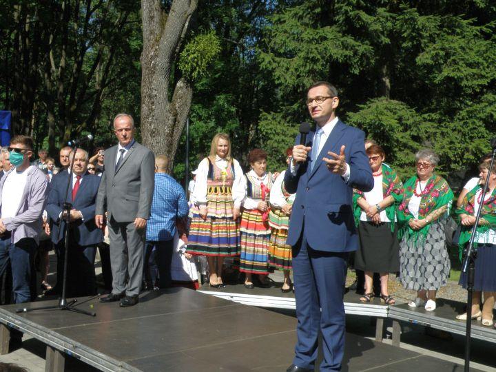 promesa 2 Premier Mateusz Morawiecki z wizytą w Tomaszowie Lubelskim
