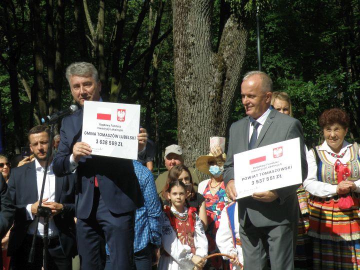 promesa 3 Premier Mateusz Morawiecki z wizytą w Tomaszowie Lubelskim