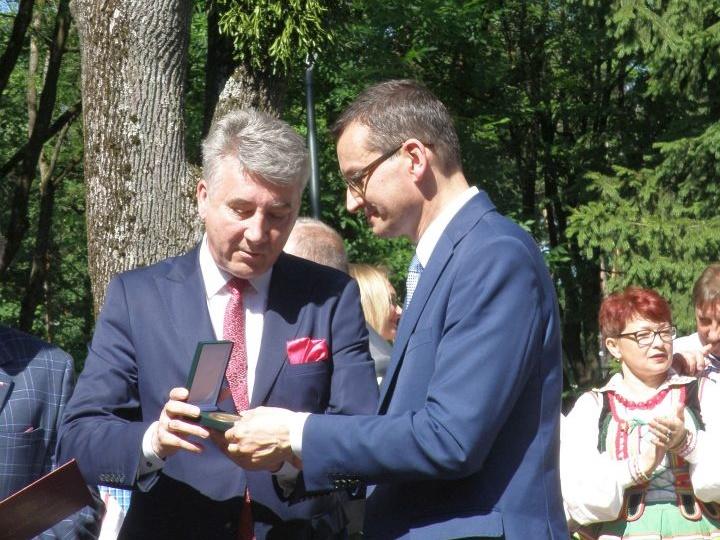 promesa 5 Premier Mateusz Morawiecki z wizytą w Tomaszowie Lubelskim