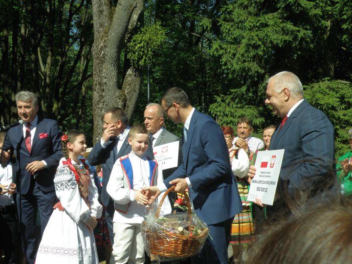 promesa 6 Premier Mateusz Morawiecki z wizytą w Tomaszowie Lubelskim