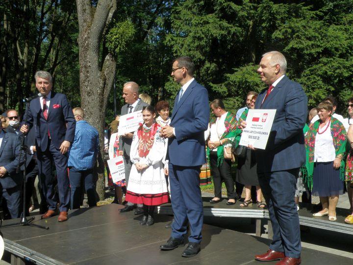 promesa 7 Premier Mateusz Morawiecki z wizytą w Tomaszowie Lubelskim