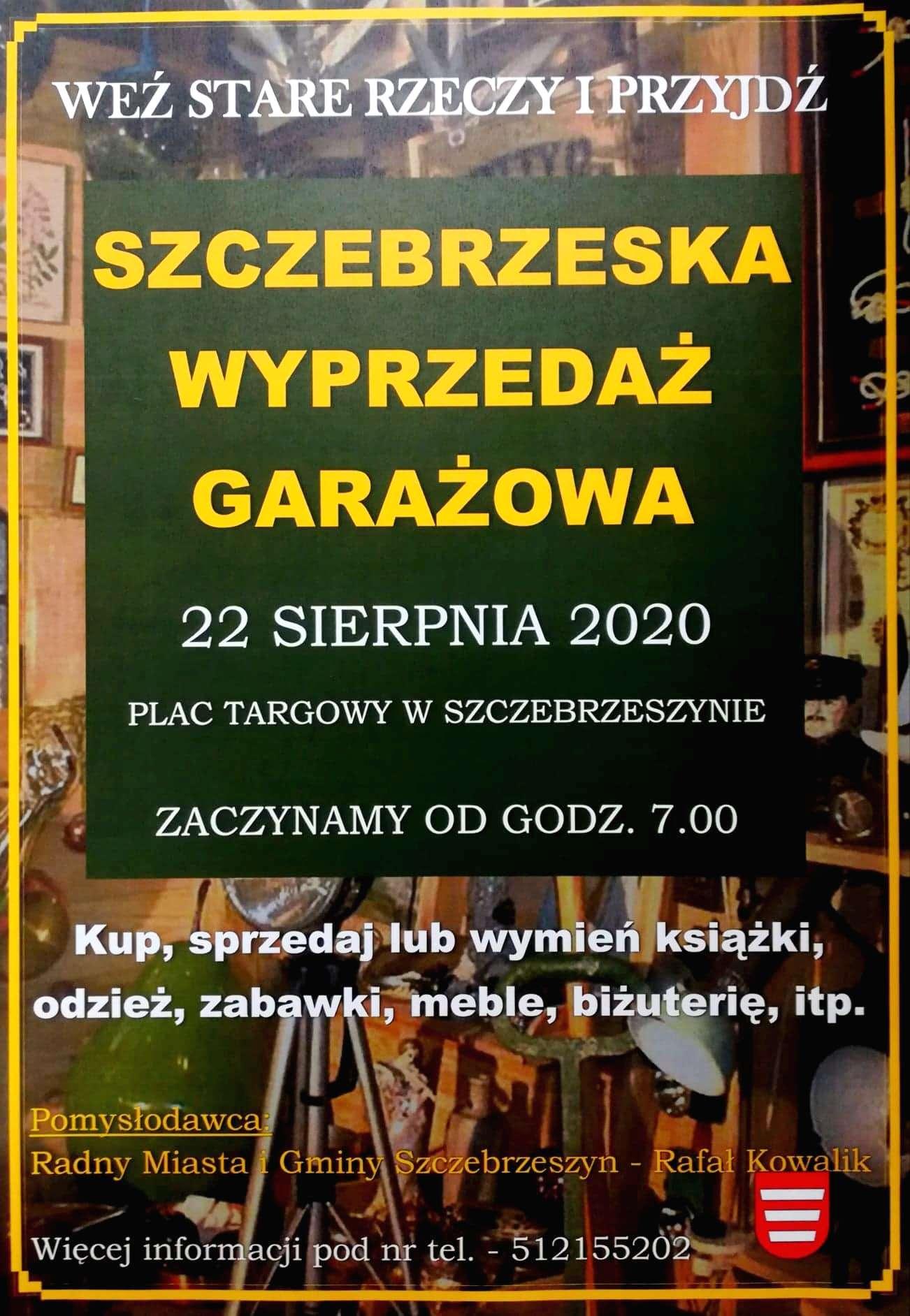 117633760 1246899075661140 4215190472676770646 n Nadchodzi kolejna Szczebrzeska Wyprzedaż Garażowa