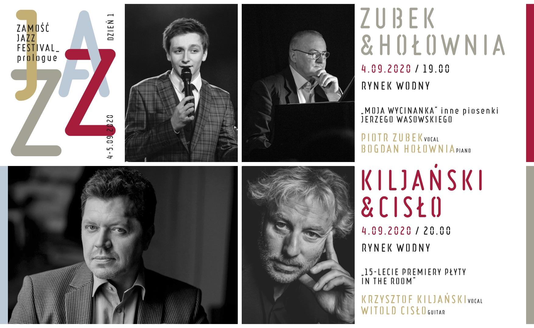 4 09 2020 internet 1 Wielkie święto jazzu w Zamościu. Przed nami ZAMOŚĆ JAZZ FESTIVAL prologue