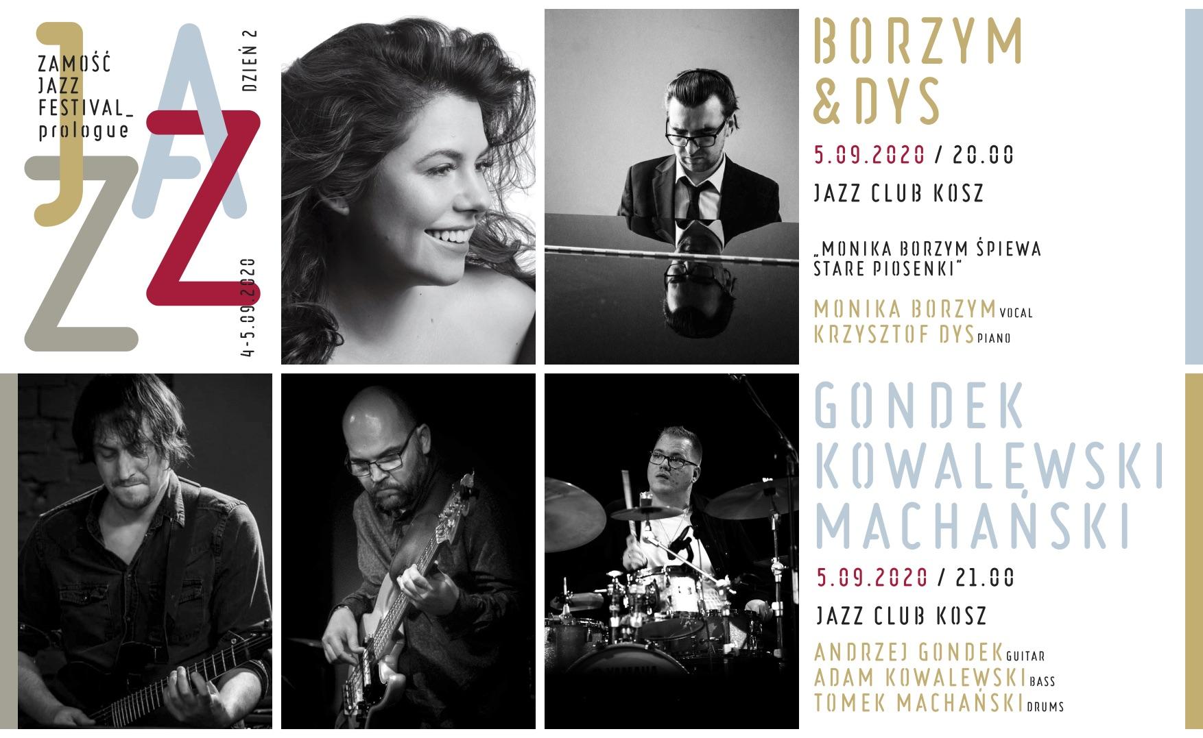 5 09 2020 internet Wielkie święto jazzu w Zamościu. Przed nami ZAMOŚĆ JAZZ FESTIVAL prologue