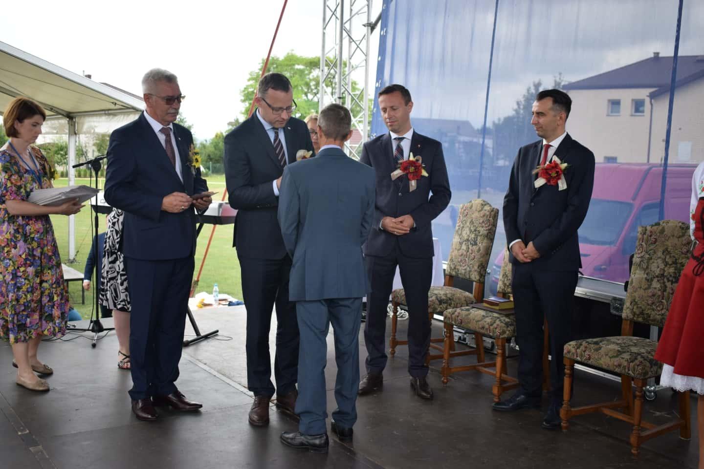 58 23 sierpnia odbyły się Dożynki Powiatowo-Gminne w Łabuniach. Publikujemy zdjęcia