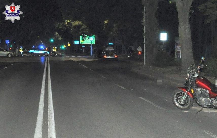 68 173383 Wypadek na ul. Partyzantów. Jedna osoba została ranna