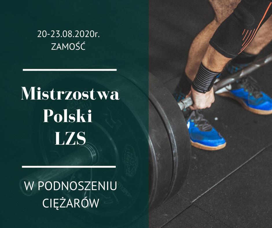 ciac299ac2bcary W Zamościu odbędą się Mistrzostwach Polski LZS w Podnoszeniu Ciężarów