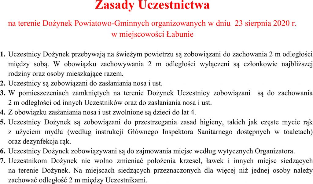 dozynkiii Dożynki Powiatowo-Gminne w Łabuniach