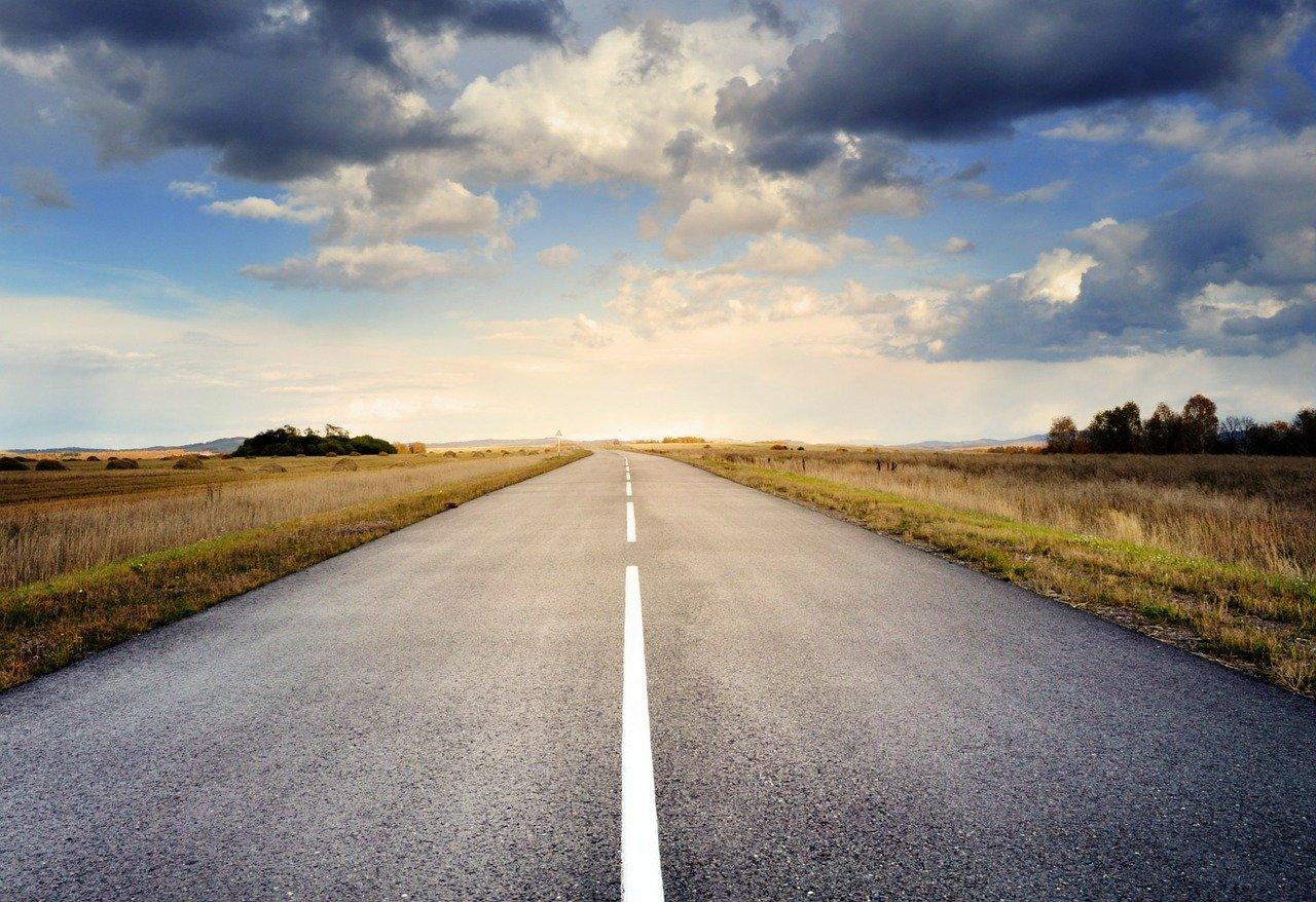 droga1 8 kilometrów nowej drogi