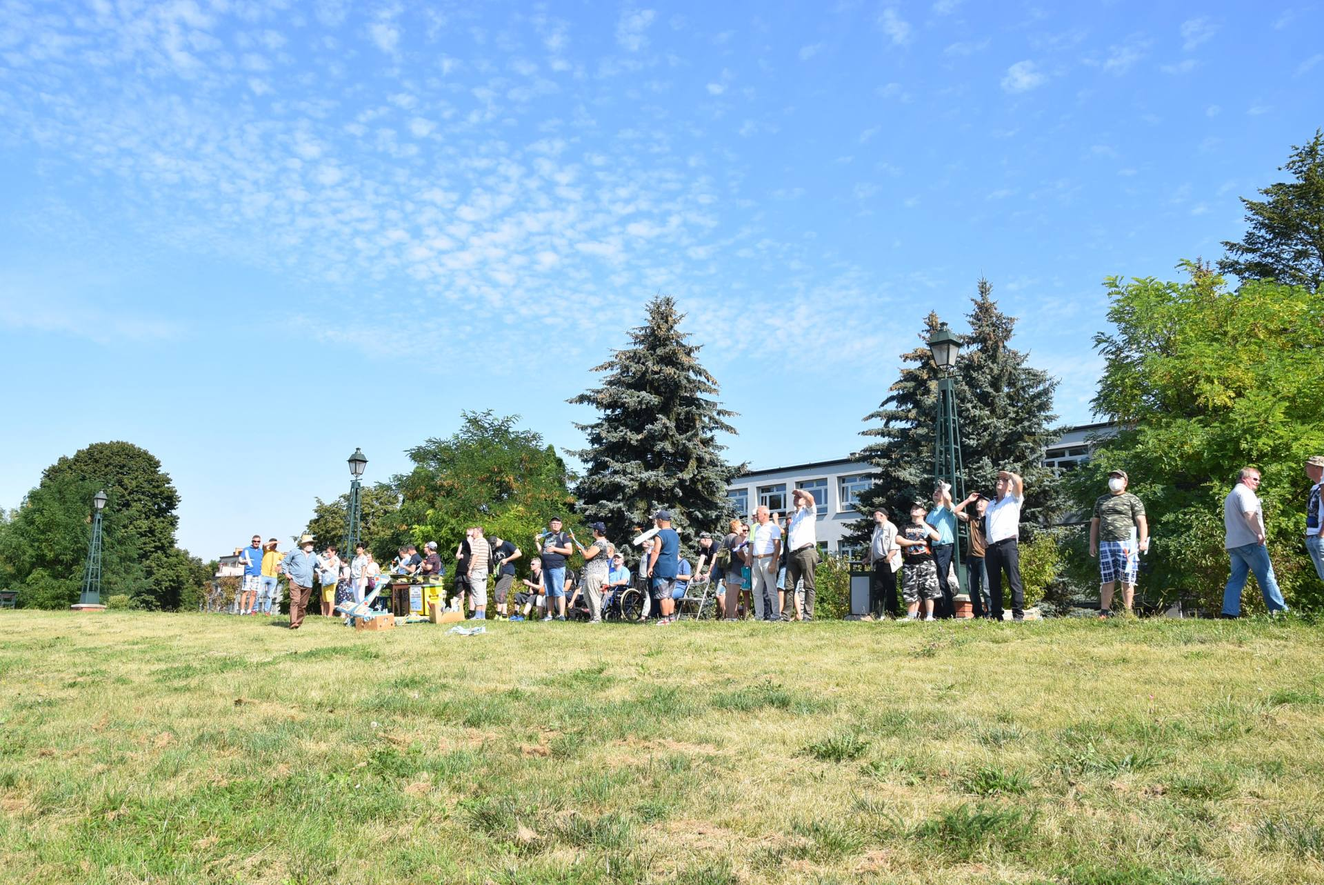 dsc 0323 Dzisiaj odbył się V Mityng Modelarski na Plantach w Zamościu