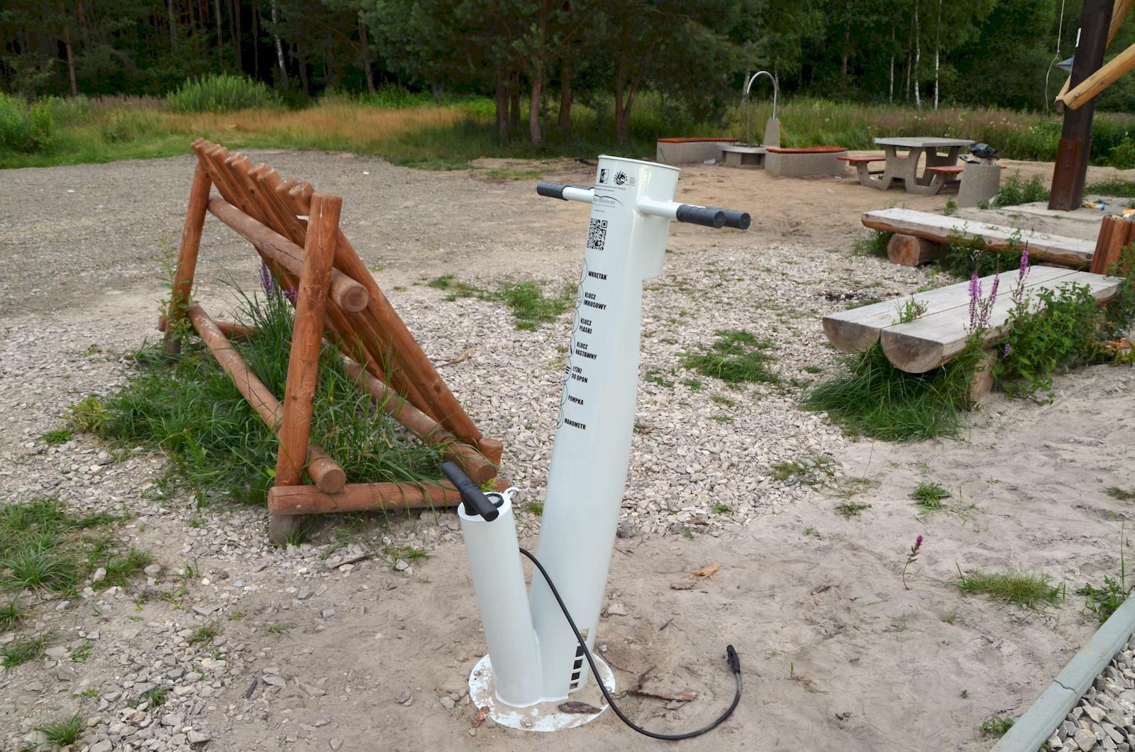 dsc 0342 1 Gm. Zamość: Tu odpoczniesz, zrobisz grilla i naprawisz rower.
