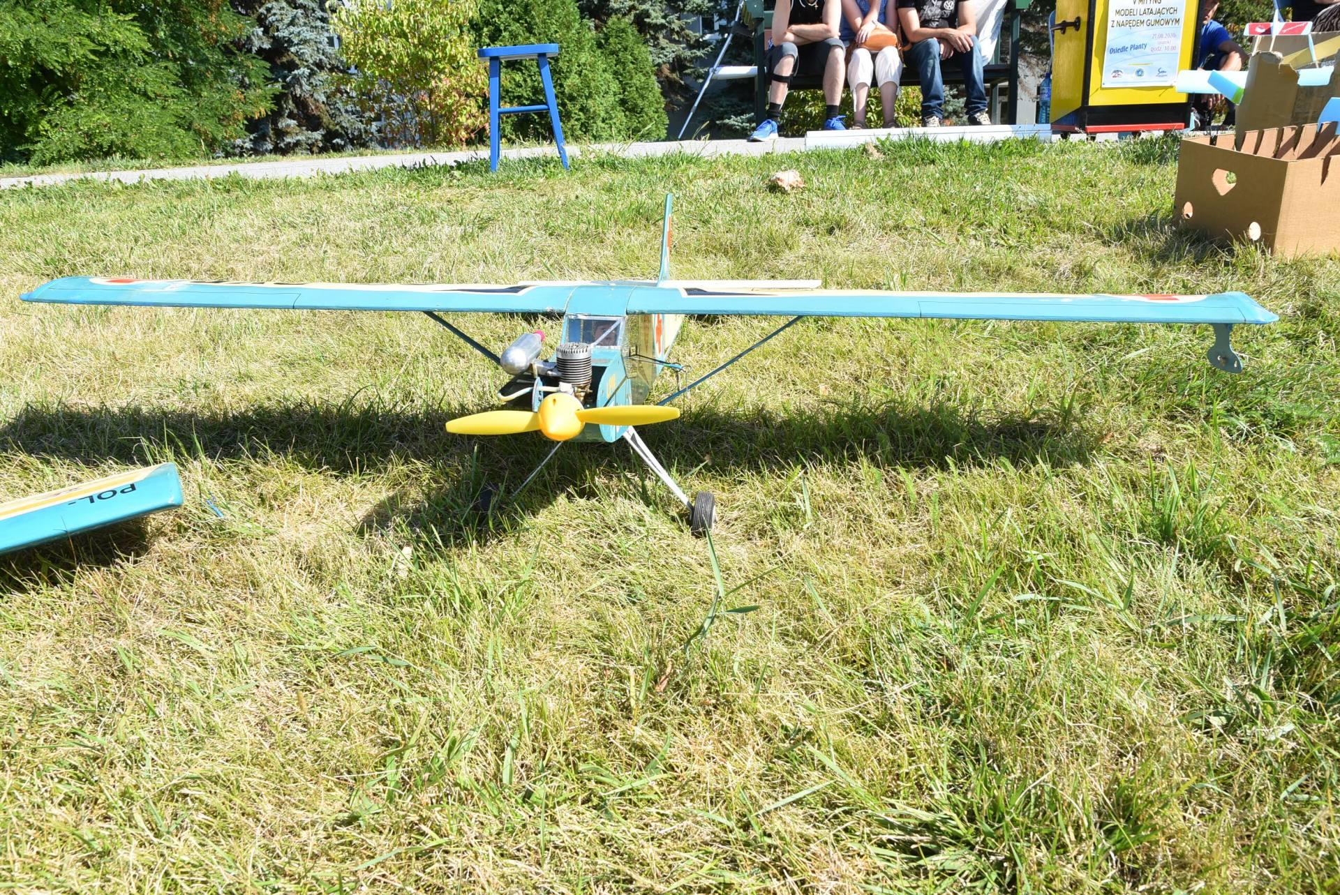 dsc 0347 Dzisiaj odbył się V Mityng Modelarski na Plantach w Zamościu