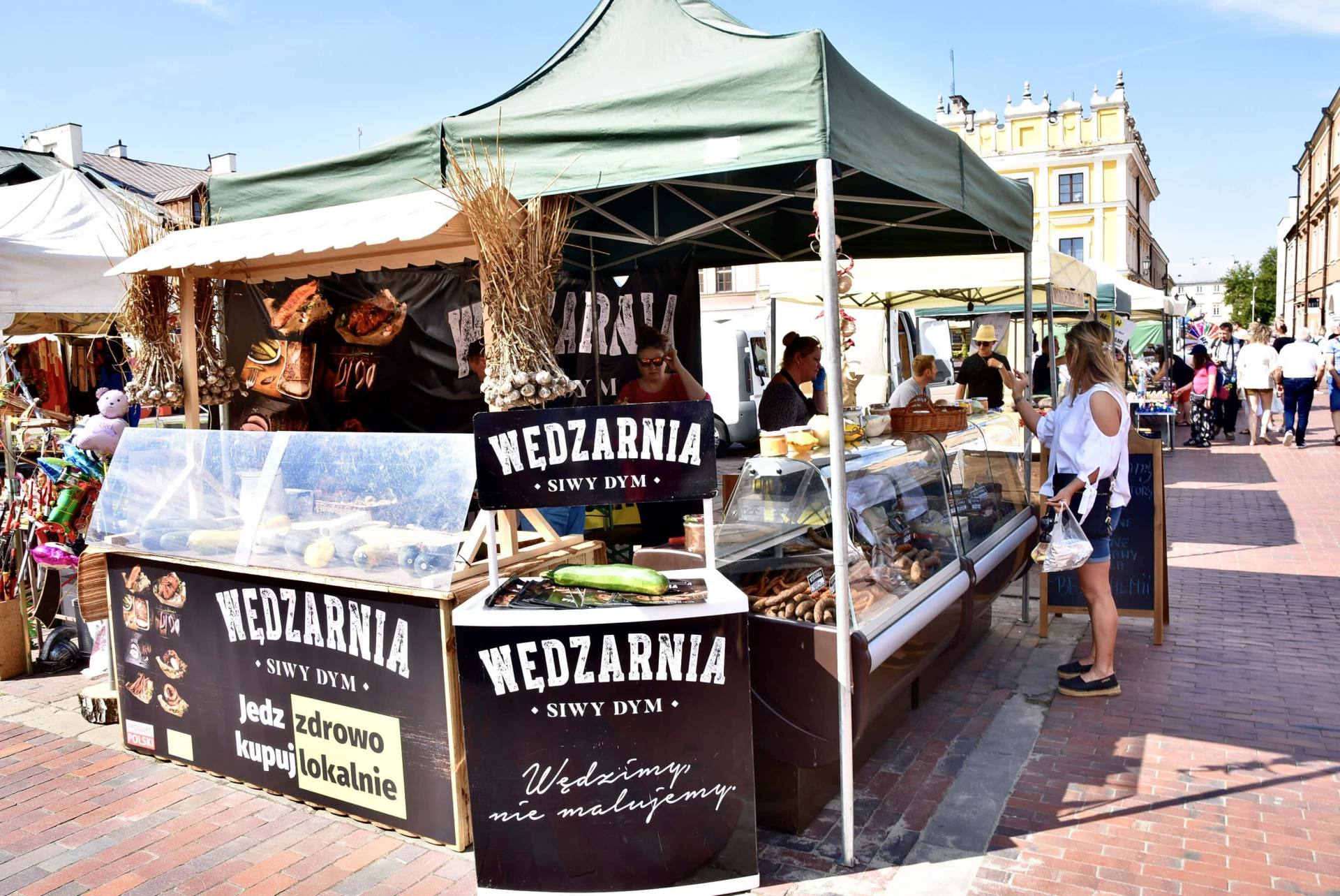 dsc 0450 Żywność prosto od rolnika na Rynku Wielkim w Zamościu. Zobacz zdjęcia i film