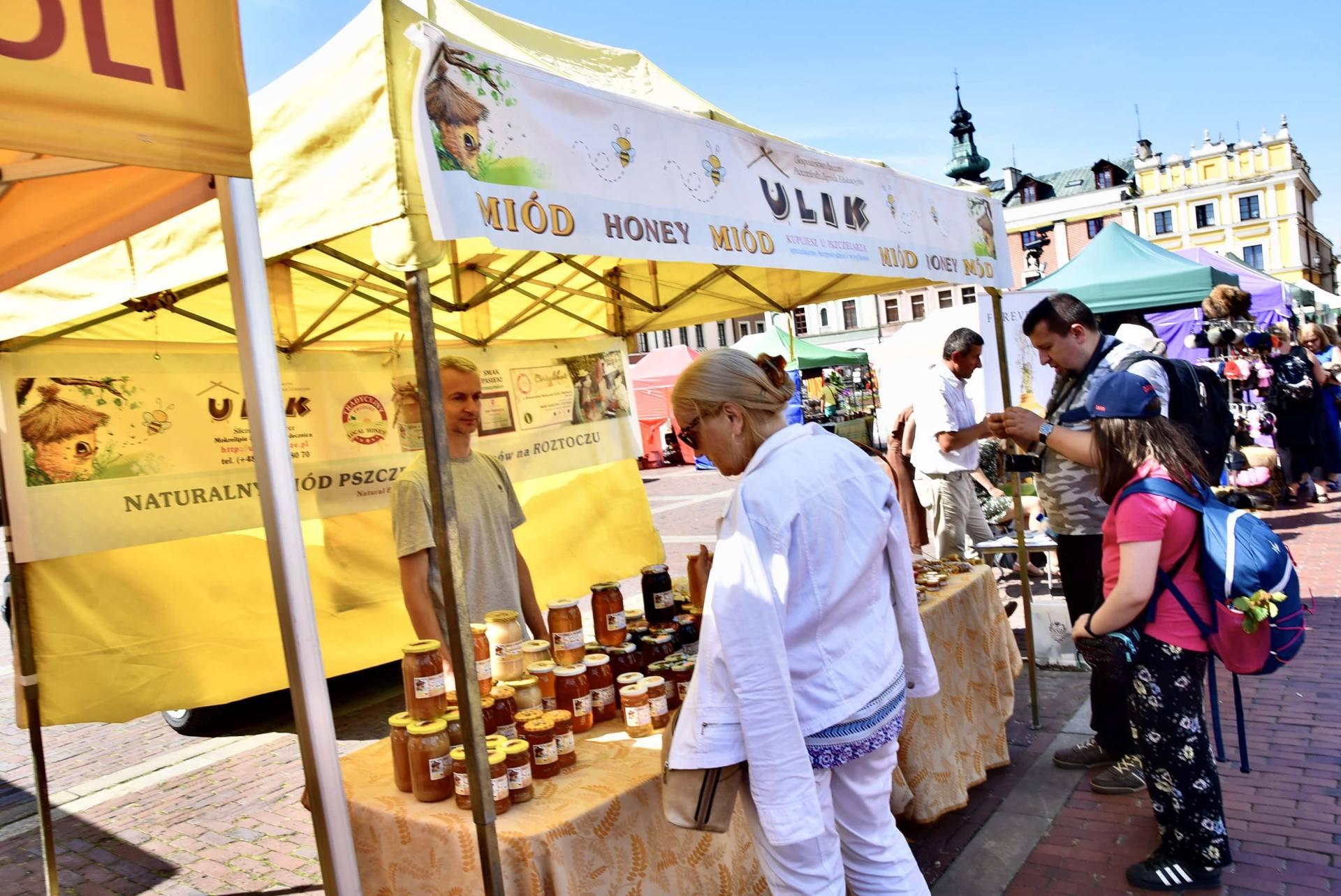 dsc 0470 Żywność prosto od rolnika na Rynku Wielkim w Zamościu. Zobacz zdjęcia i film