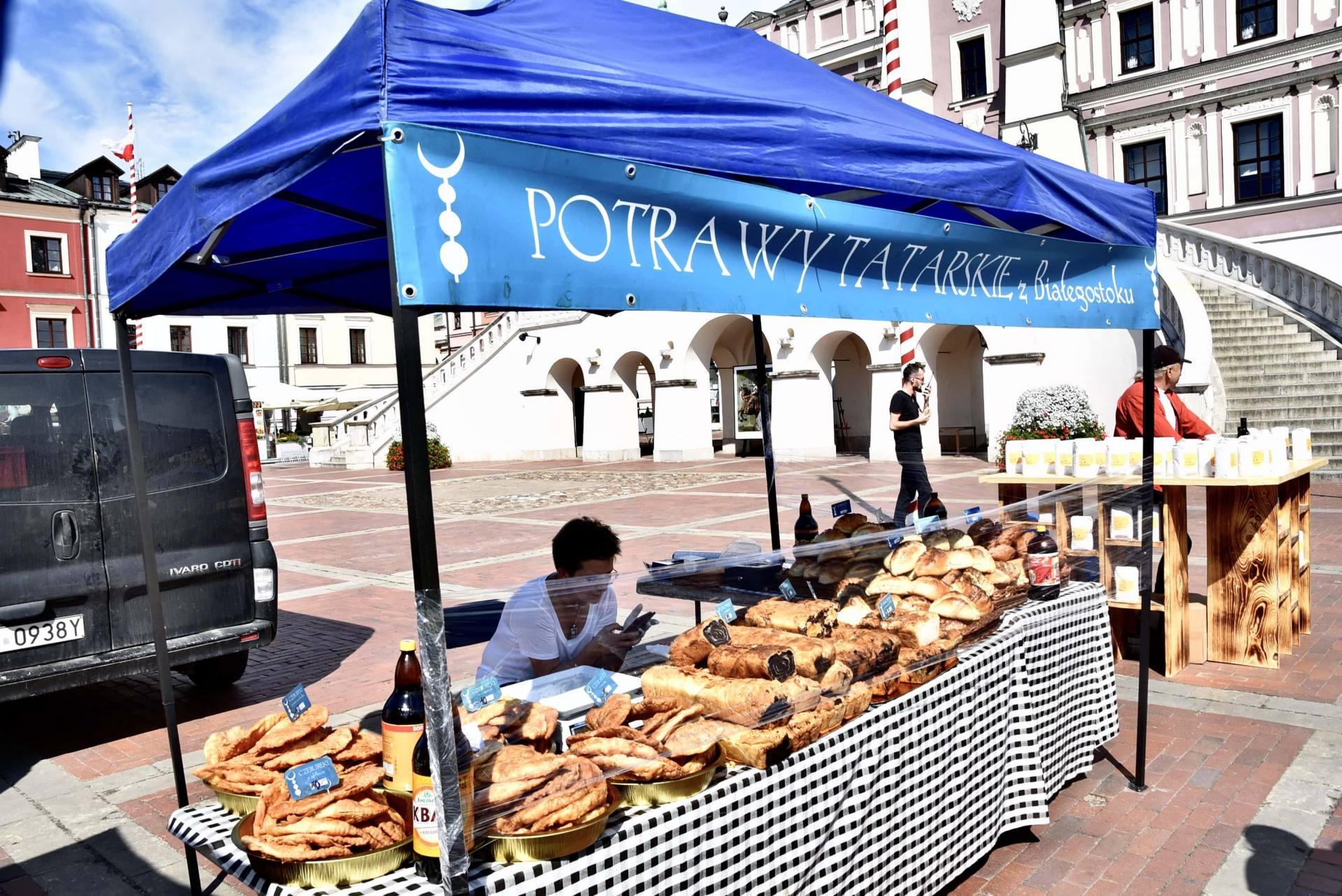 dsc 0471 Żywność prosto od rolnika na Rynku Wielkim w Zamościu. Zobacz zdjęcia i film