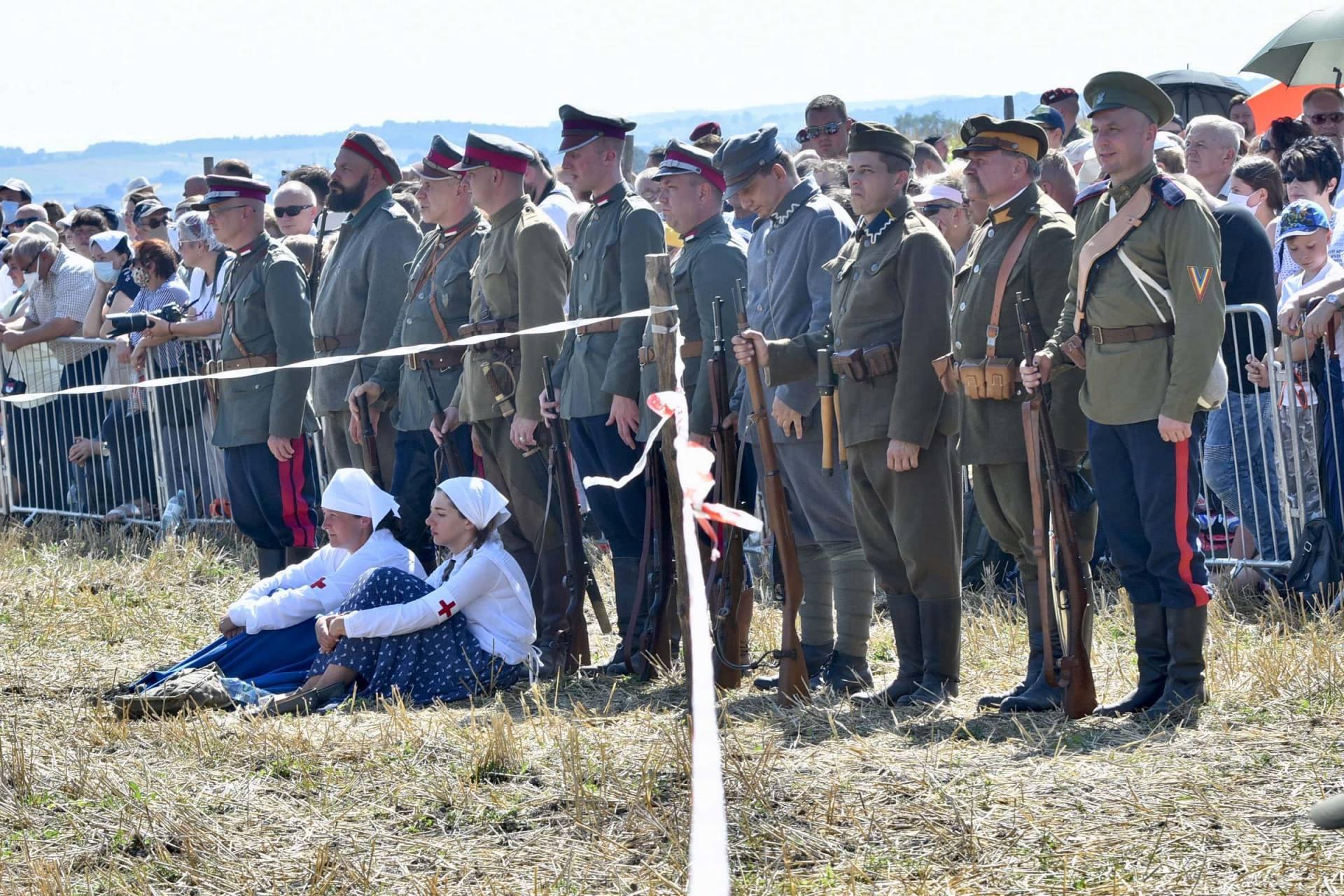dsc 0552 Czas szabli - 100 rocznica bitwy pod Komarowem(zdjęcia)