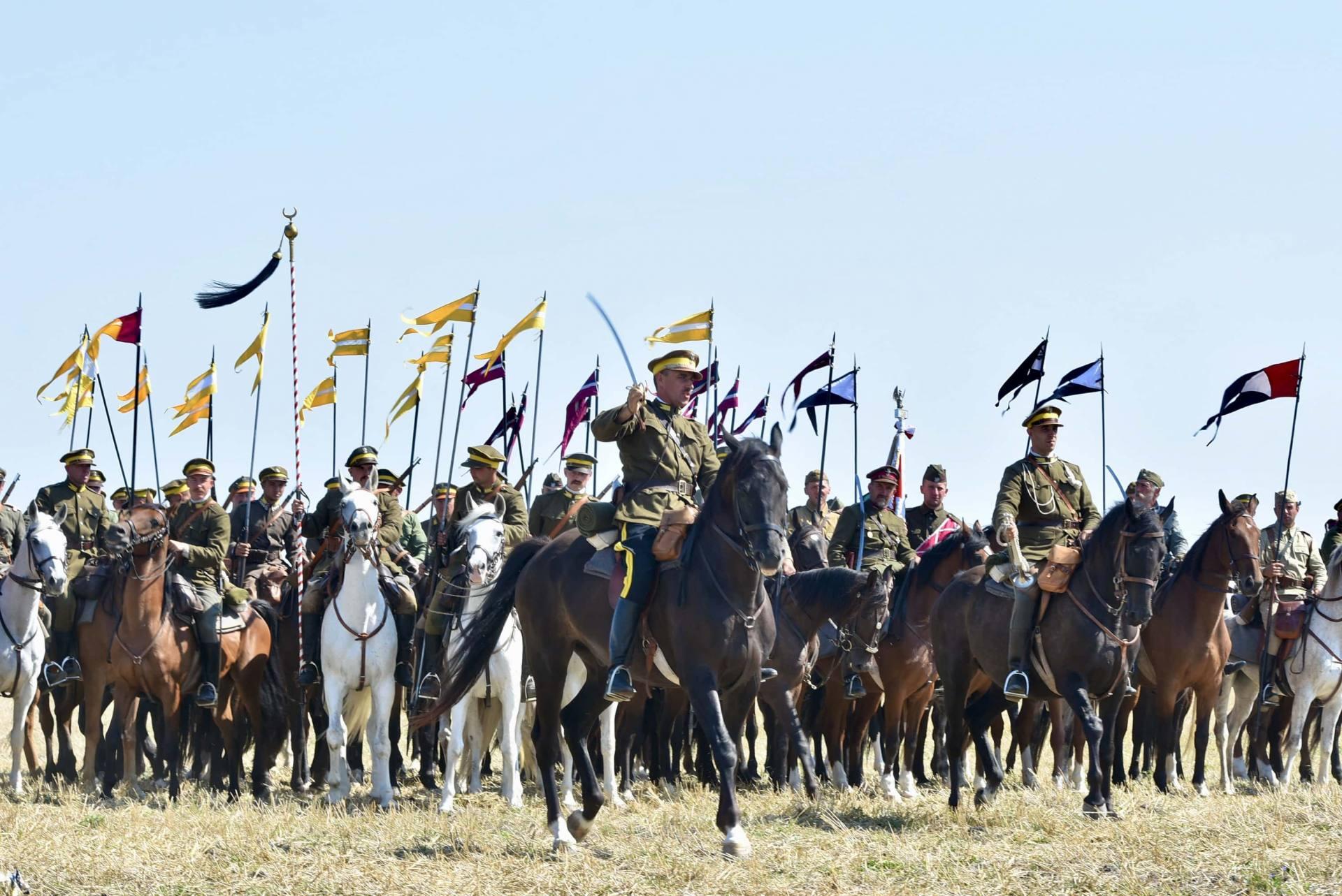 dsc 0562 Czas szabli - 100 rocznica bitwy pod Komarowem(zdjęcia)