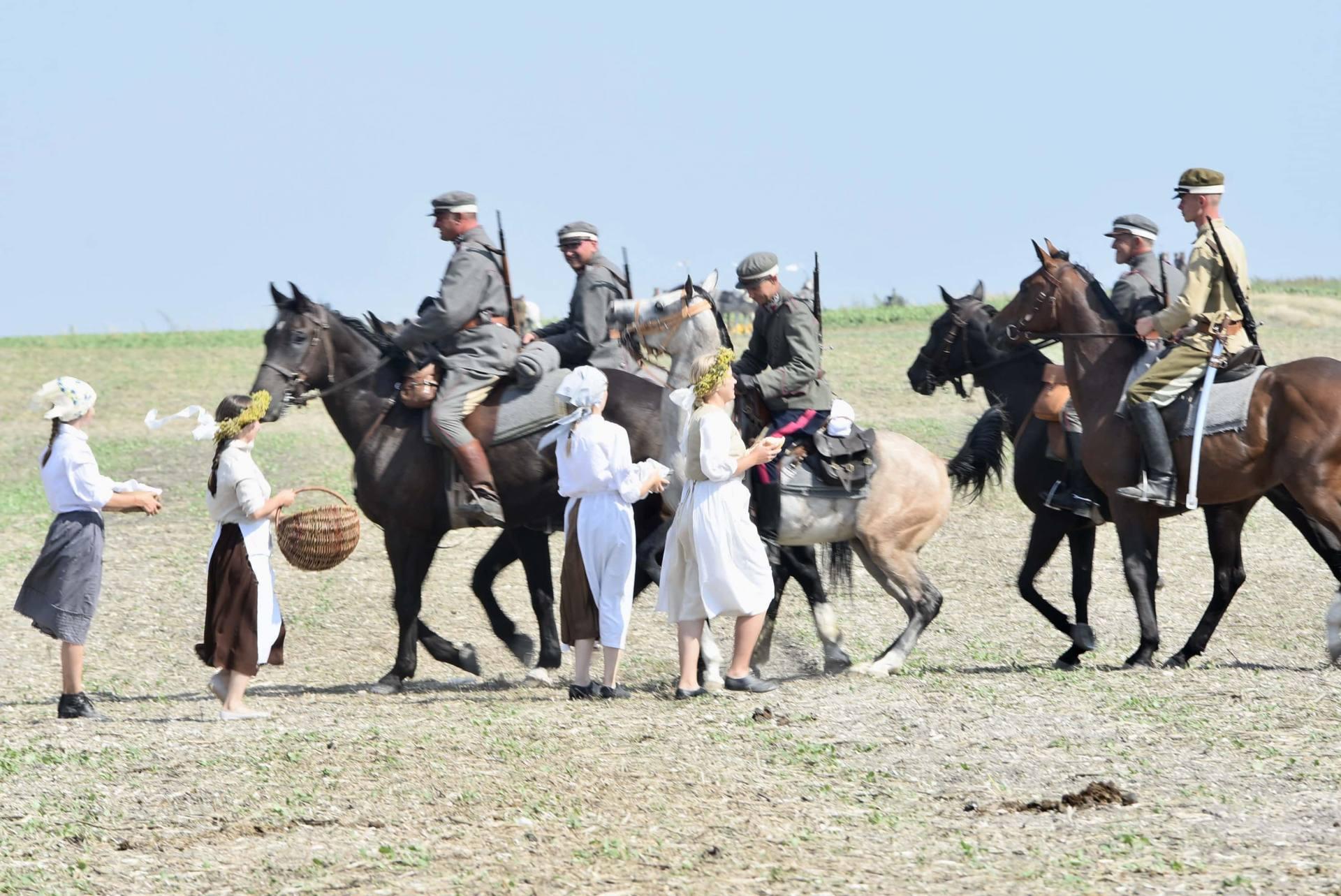 dsc 0770 Czas szabli - 100 rocznica bitwy pod Komarowem(zdjęcia)