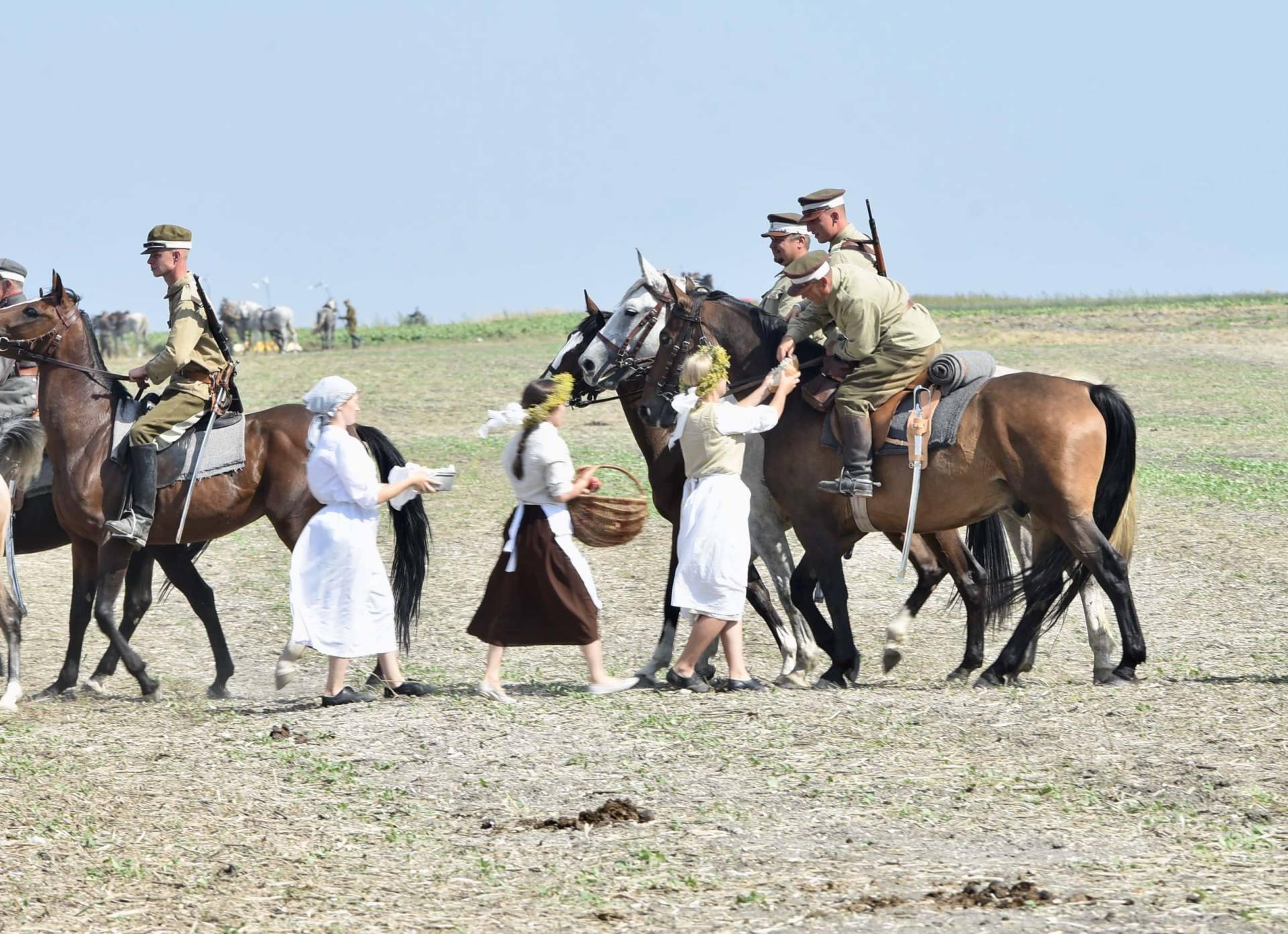 dsc 0776 Czas szabli - 100 rocznica bitwy pod Komarowem(zdjęcia)