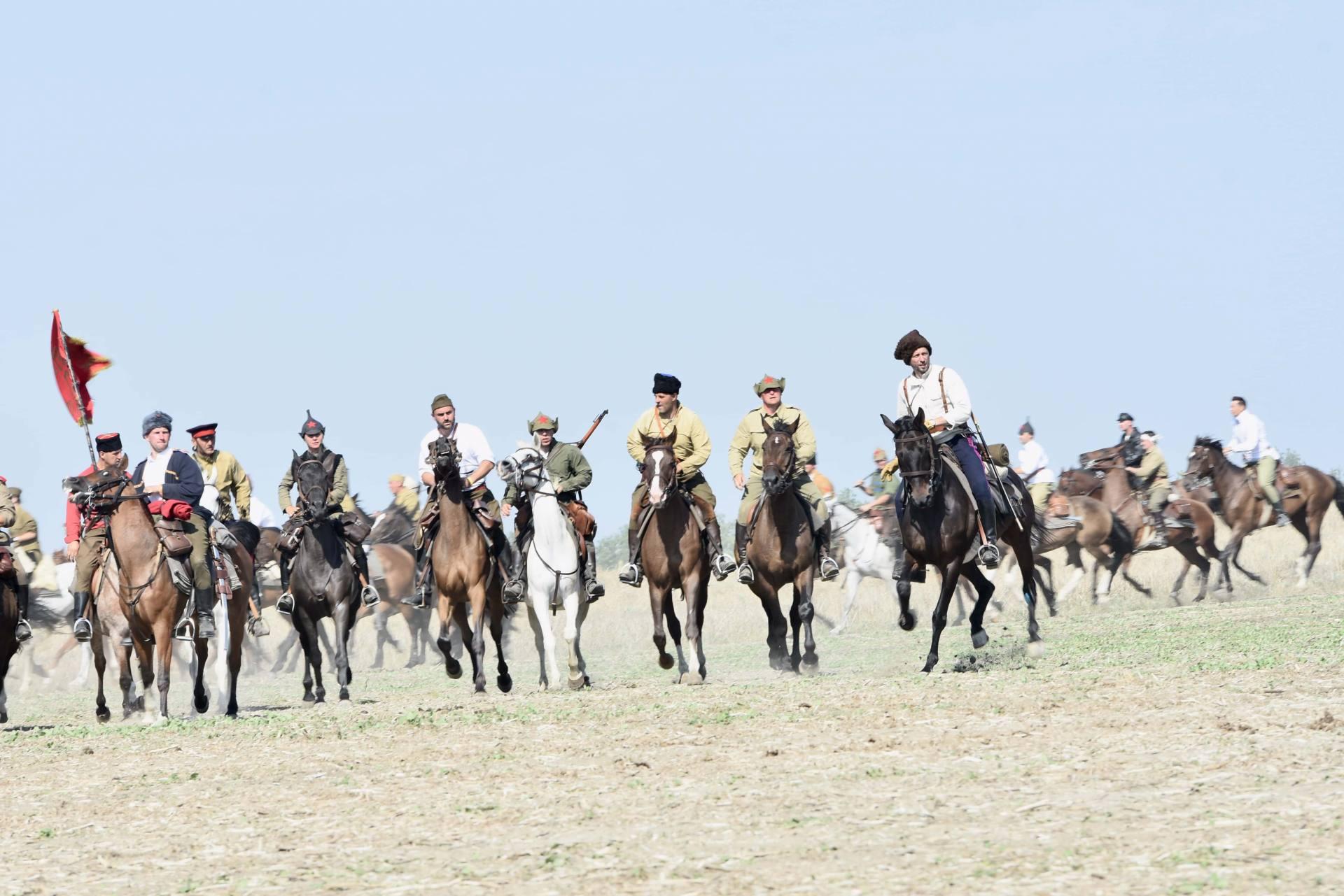 dsc 0834 Czas szabli - 100 rocznica bitwy pod Komarowem(zdjęcia)