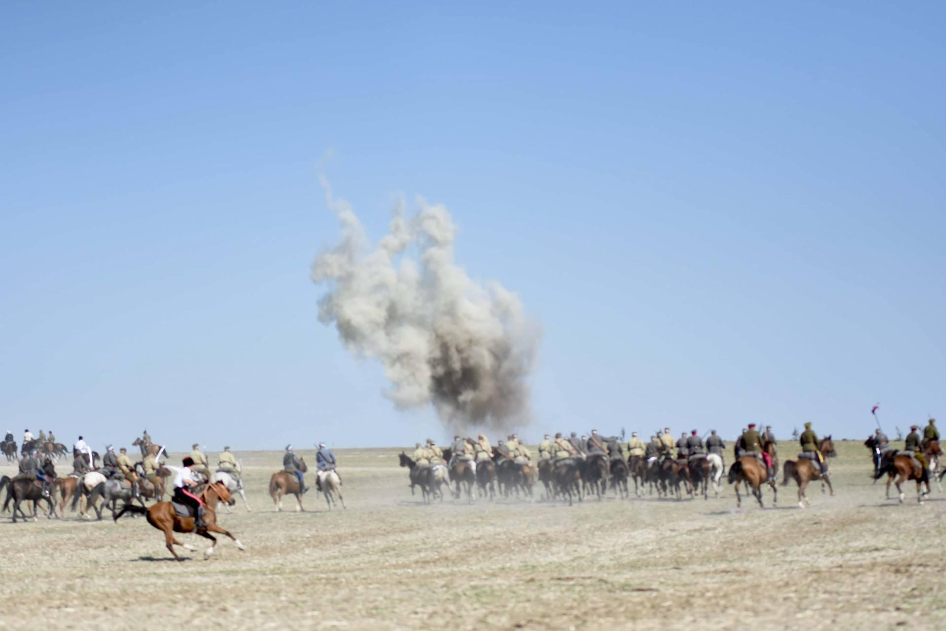 dsc 0981 Czas szabli - 100 rocznica bitwy pod Komarowem(zdjęcia)