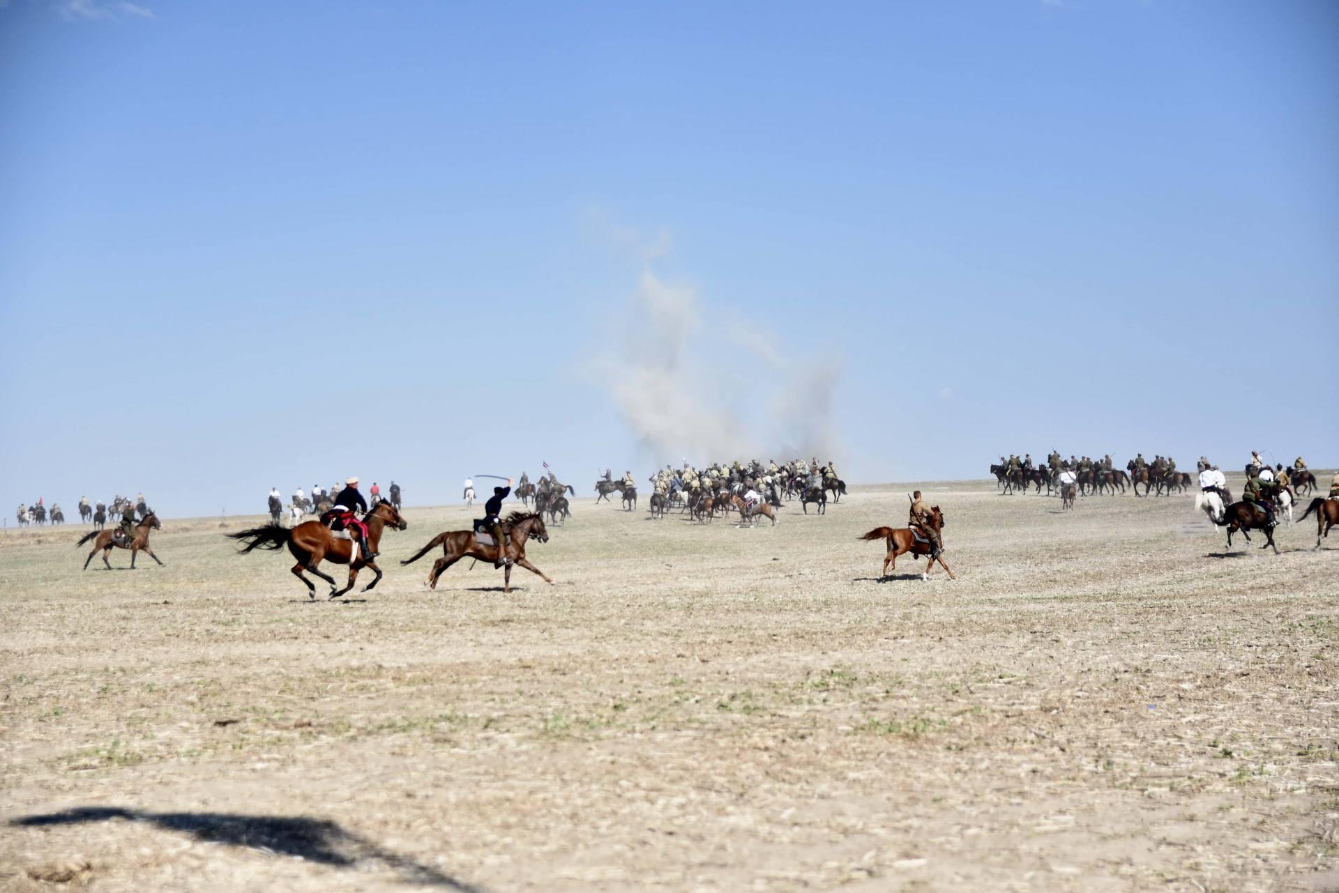 dsc 0986 Czas szabli - 100 rocznica bitwy pod Komarowem(zdjęcia)
