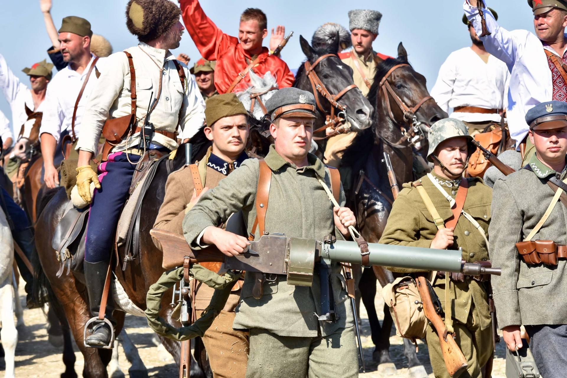 dsc 1113 Czas szabli - 100 rocznica bitwy pod Komarowem(zdjęcia)