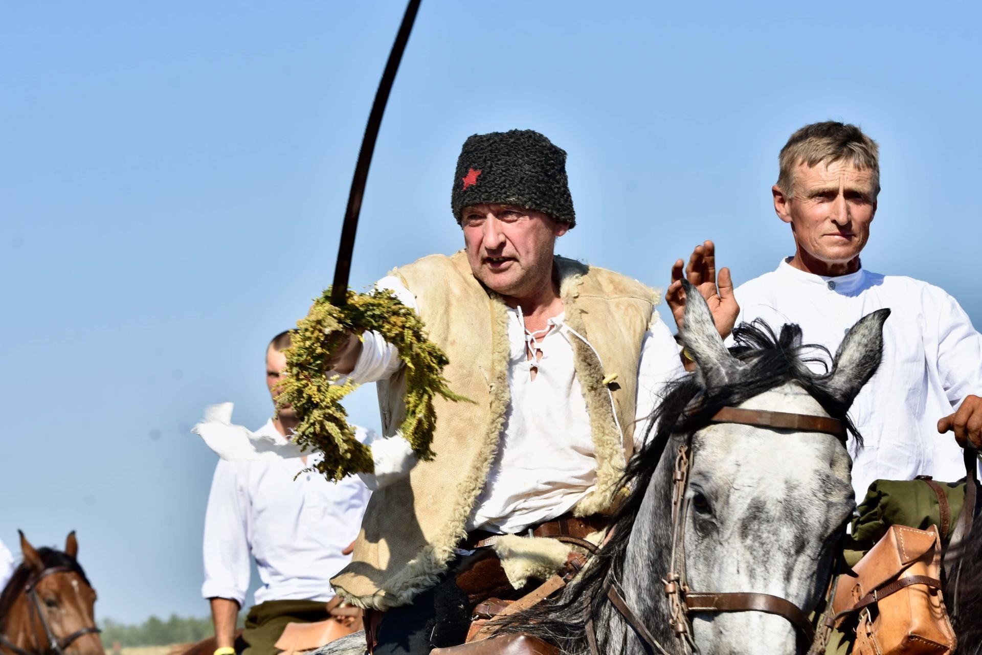 dsc 1119 Czas szabli - 100 rocznica bitwy pod Komarowem(zdjęcia)