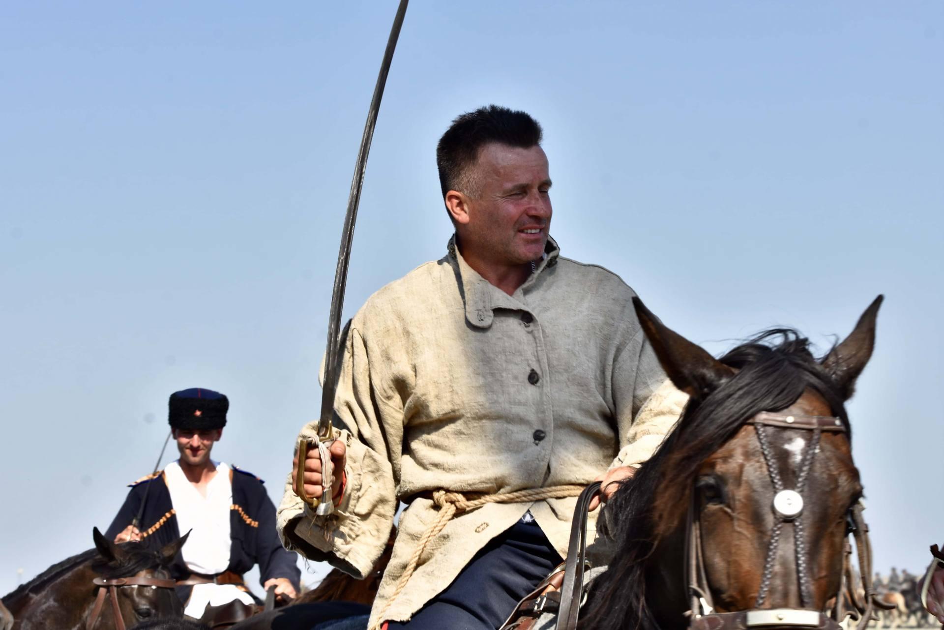 dsc 1121 Czas szabli - 100 rocznica bitwy pod Komarowem(zdjęcia)