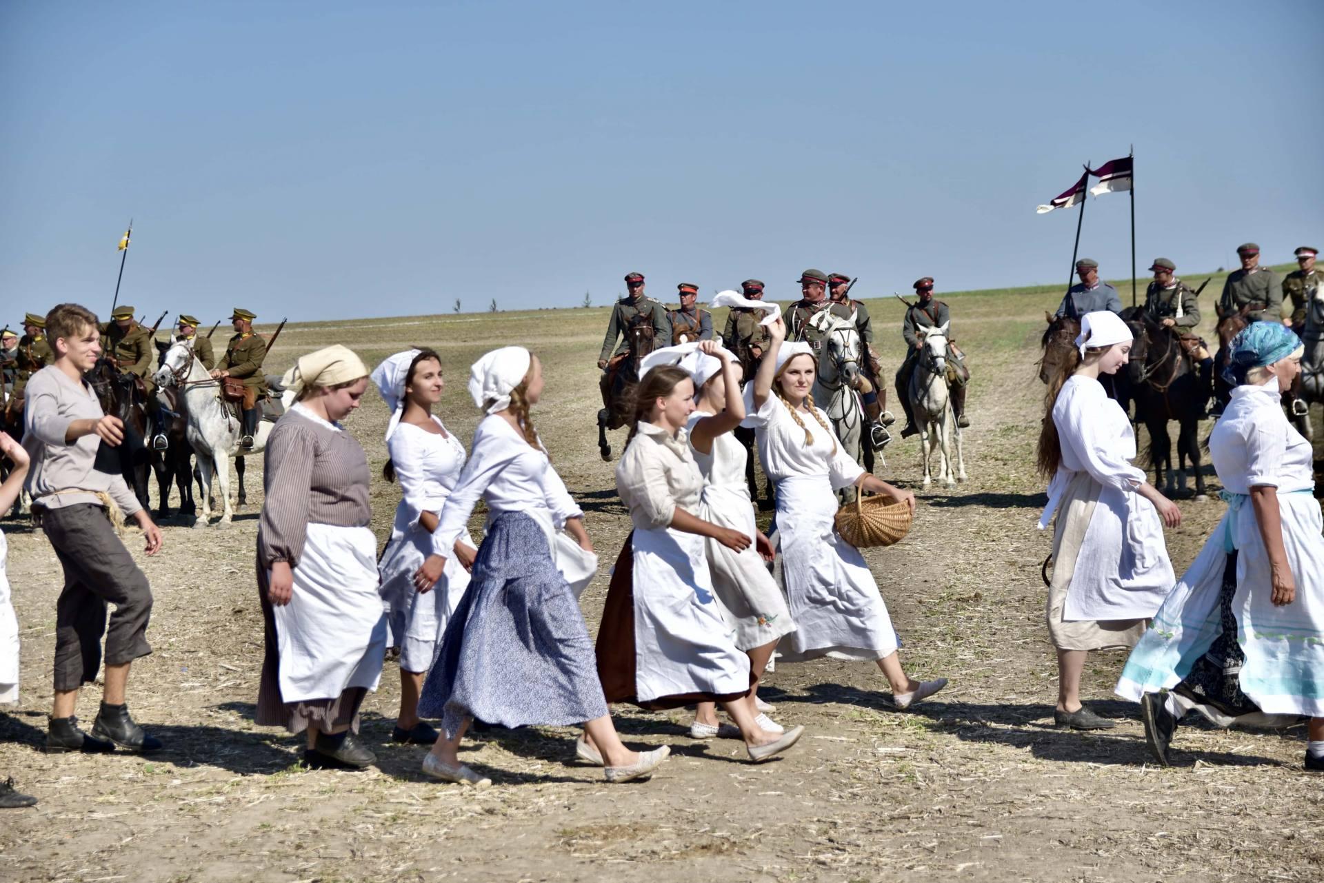 dsc 1167 Czas szabli - 100 rocznica bitwy pod Komarowem(zdjęcia)