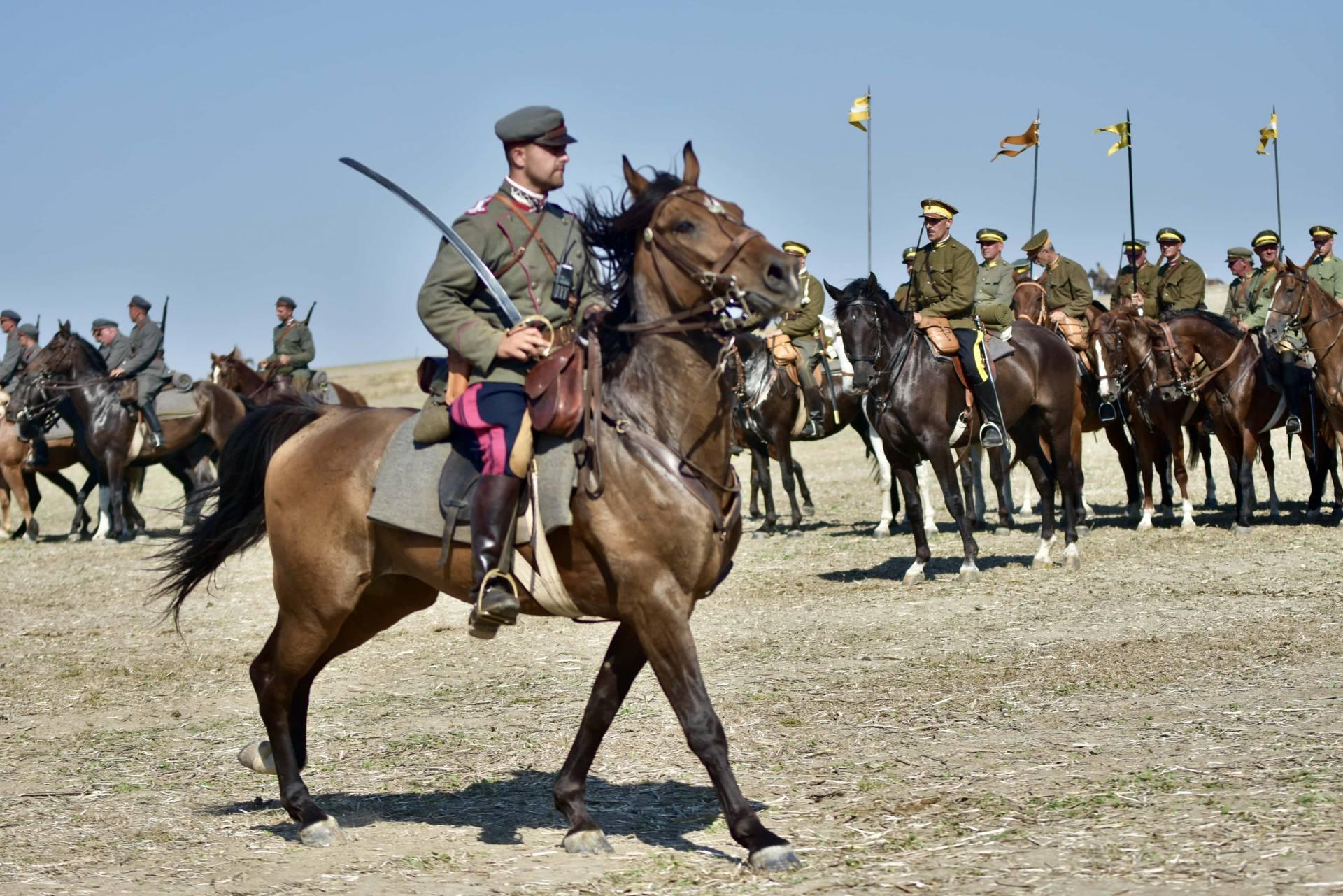 dsc 1175 Czas szabli - 100 rocznica bitwy pod Komarowem(zdjęcia)