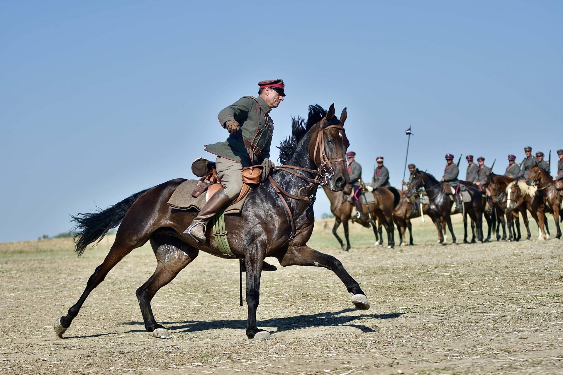 dsc 1192 Czas szabli - 100 rocznica bitwy pod Komarowem(zdjęcia)