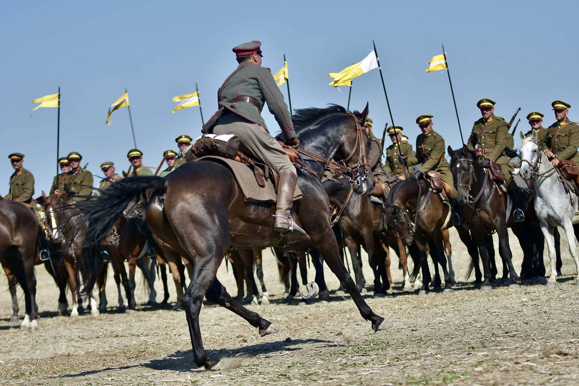 dsc 1194 Czas szabli - 100 rocznica bitwy pod Komarowem(zdjęcia)