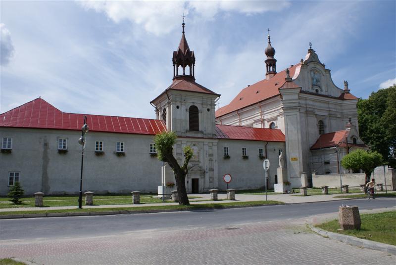 kosciol Sanktuarium w Krasnobrodzie zamknięte z powodu koronawirusa
