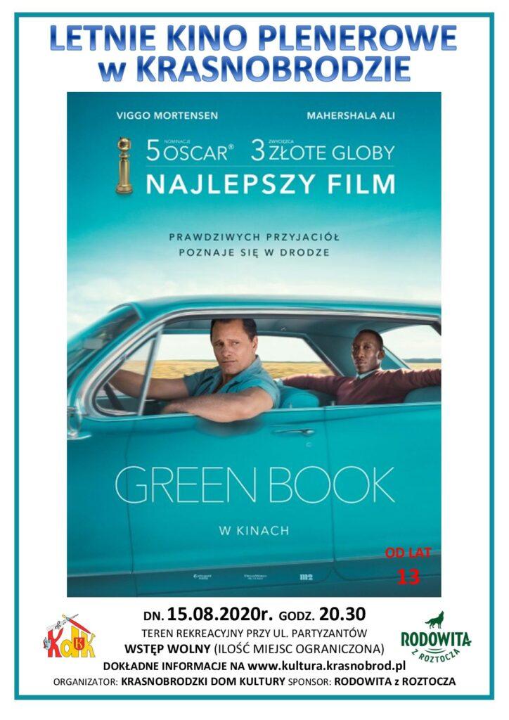 letnie kino plakat Letnie Kino Plenerowe w Krasnobrodzie