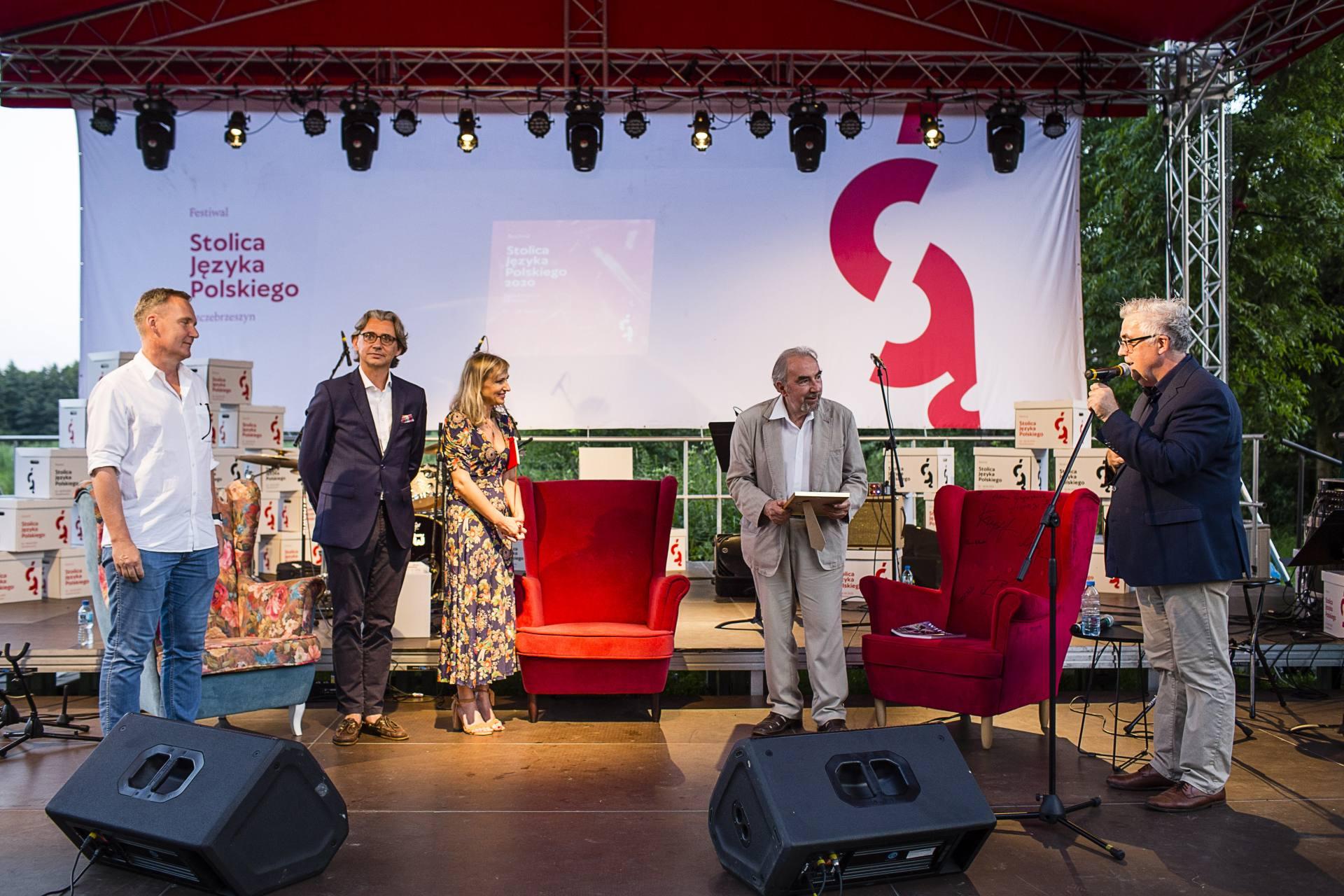 nagroda wielkiego redaktora fot wojciech lembryk Festiwal Stolica Języka Polskiego 2020 - znamy laureata Nagrody Wielkiego Redaktora.